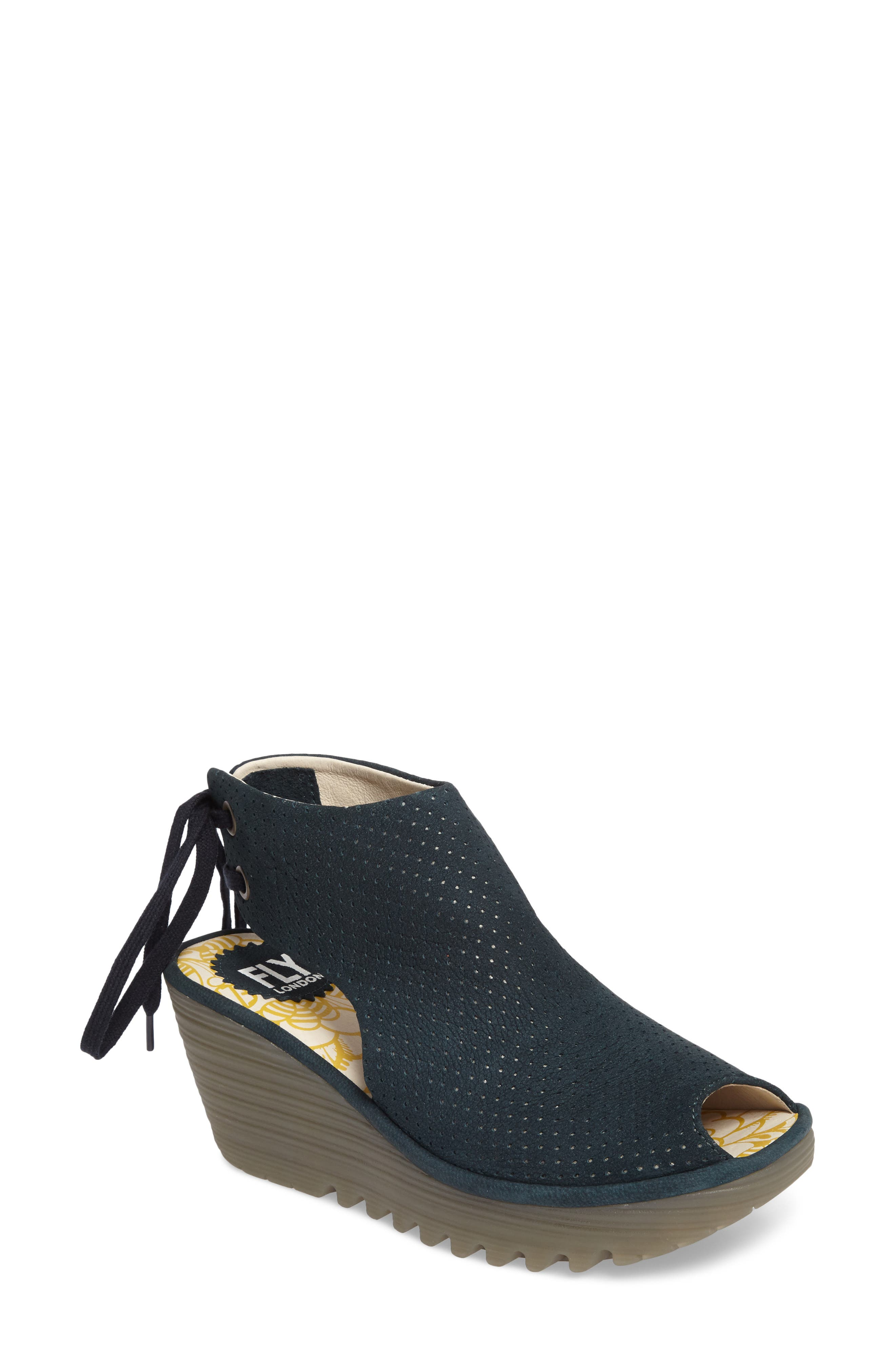 Ypul Wedge Sandal,                             Main thumbnail 1, color,                             REEF CUPIDO LEATHER