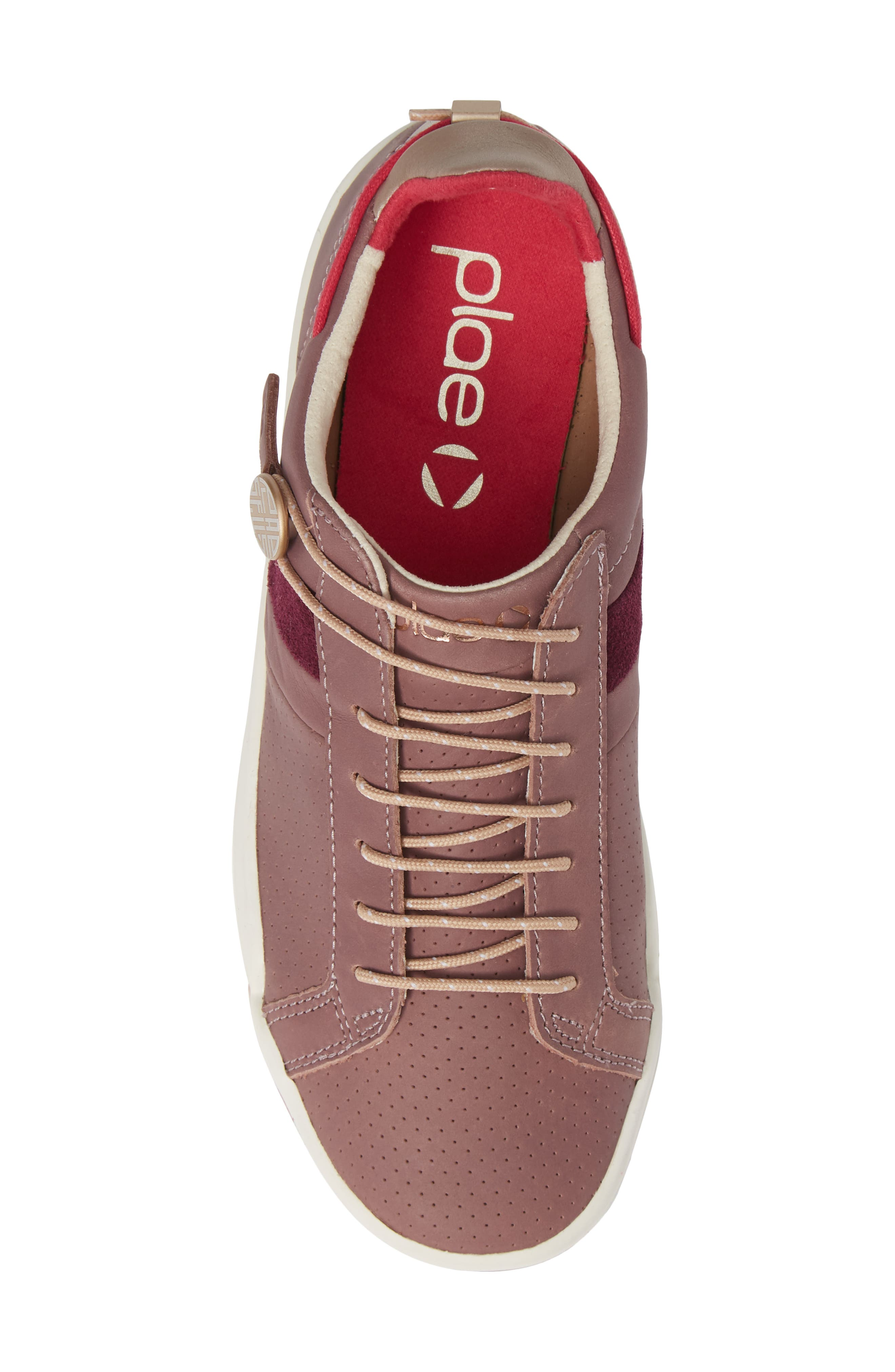 Mulberry Sneaker,                             Alternate thumbnail 5, color,                             SILTSTONE LEATHER
