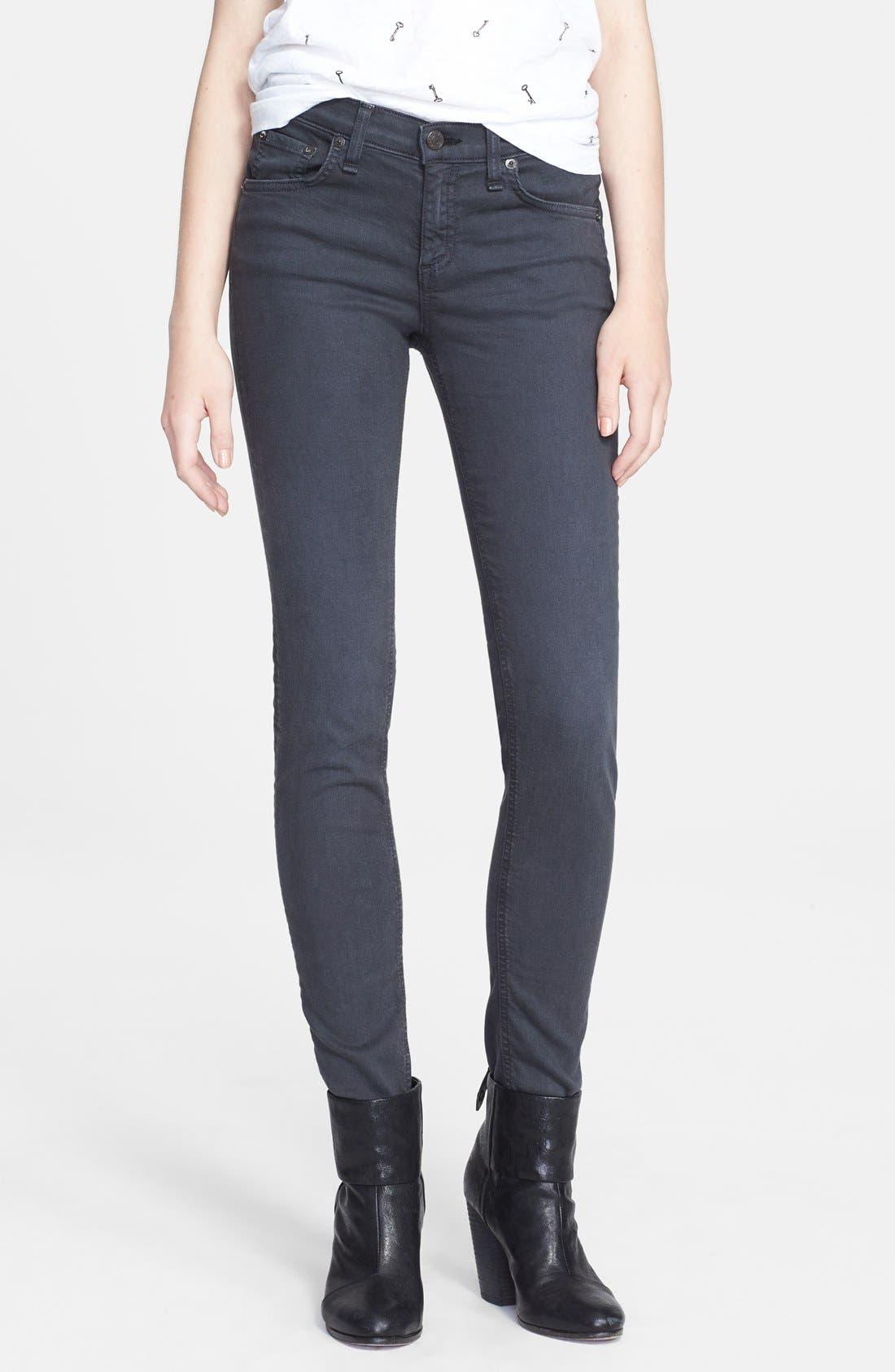 RAG & BONE JEAN 'The Skinny' Jeans, Main, color, 011