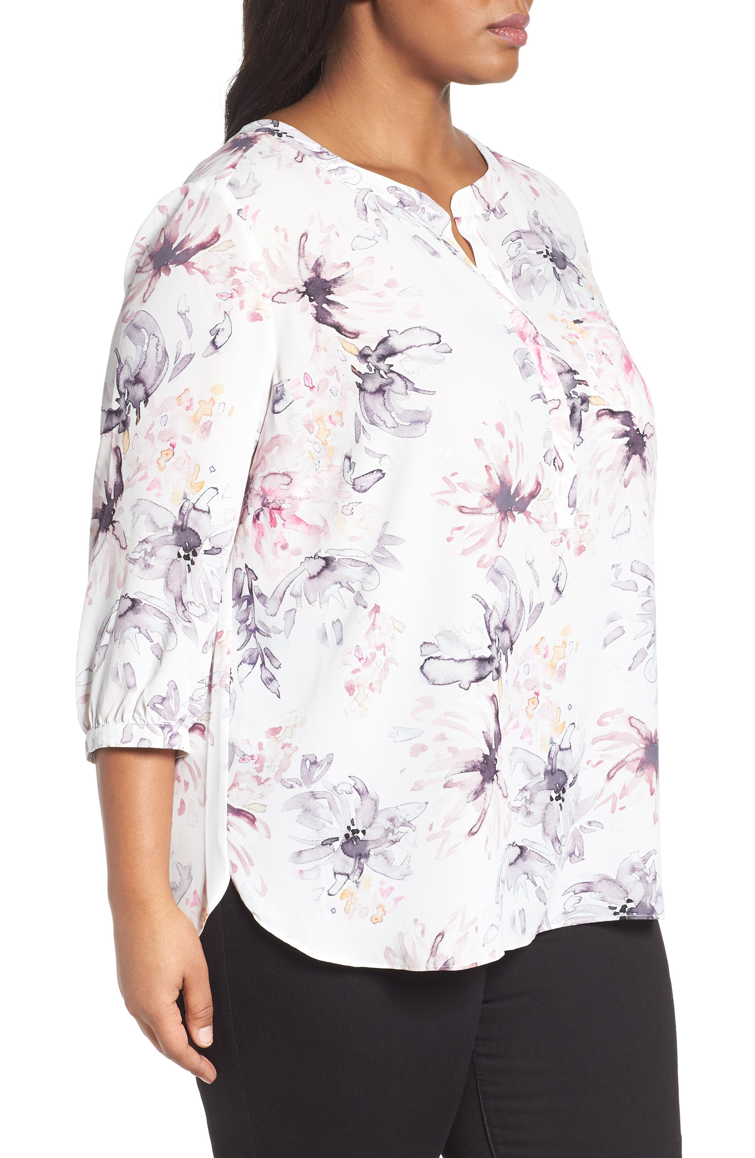 Henley Top,                             Alternate thumbnail 284, color,