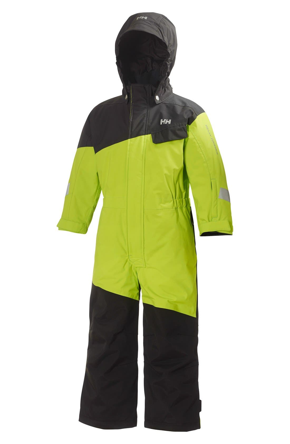 HELLY HANSEN 'K Rider' Water Resistant Insulated Ski Suit, Main, color, 310
