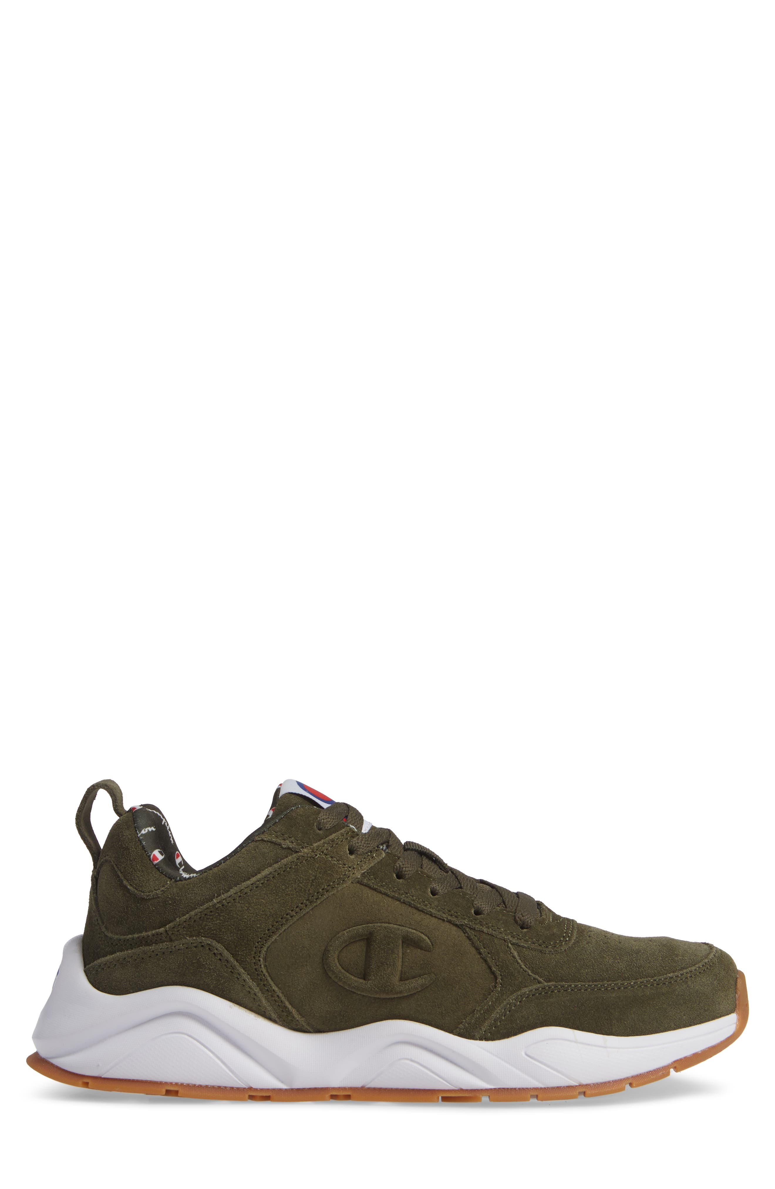 93Eighteen Sneaker,                             Alternate thumbnail 3, color,                             HIKER GREEN SUEDE