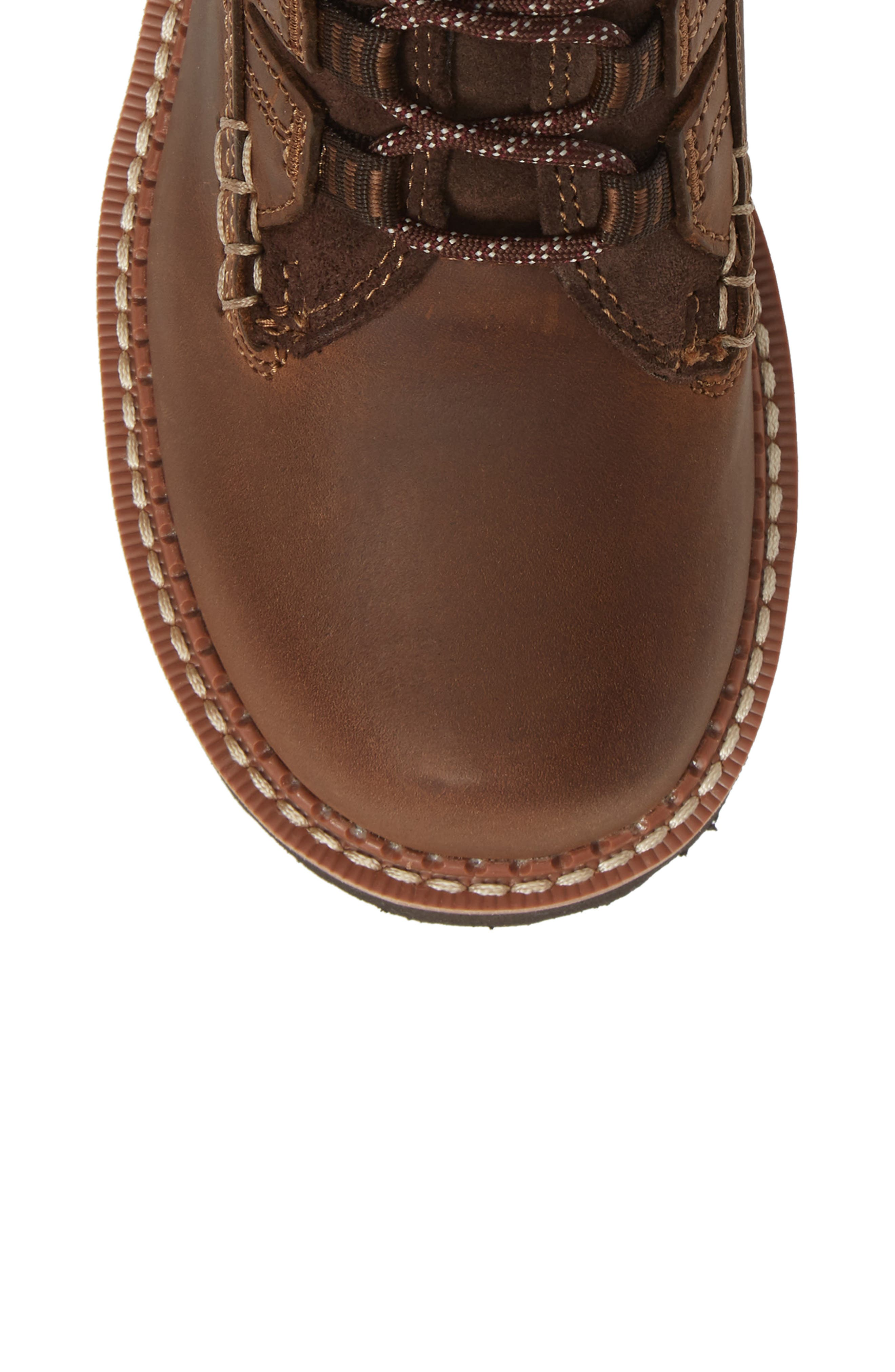Canyon II Bootie,                             Alternate thumbnail 5, color,                             DISTRESSED BROWN LEATHER