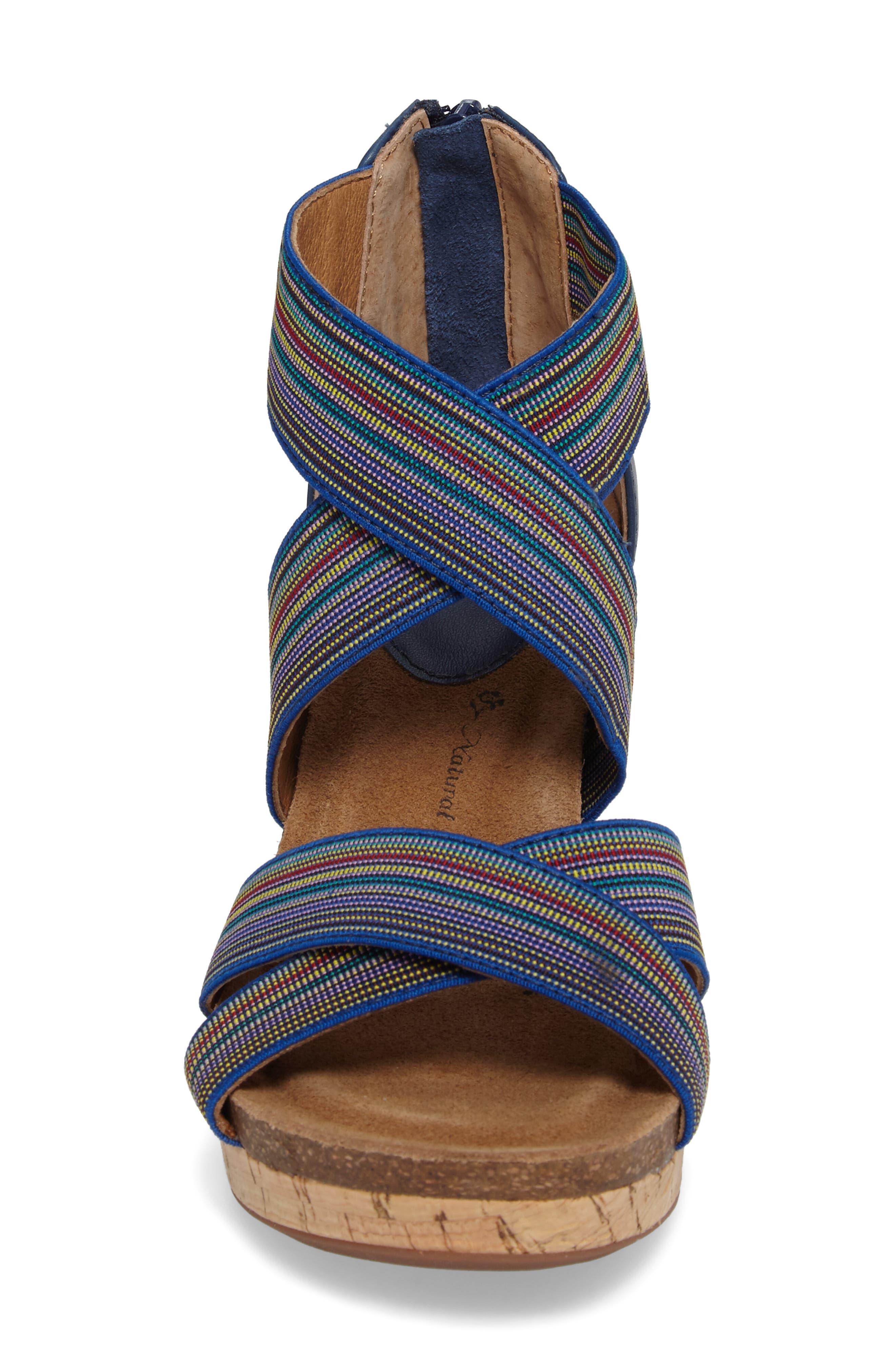 Cary Cross Strap Wedge Sandal,                             Alternate thumbnail 11, color,
