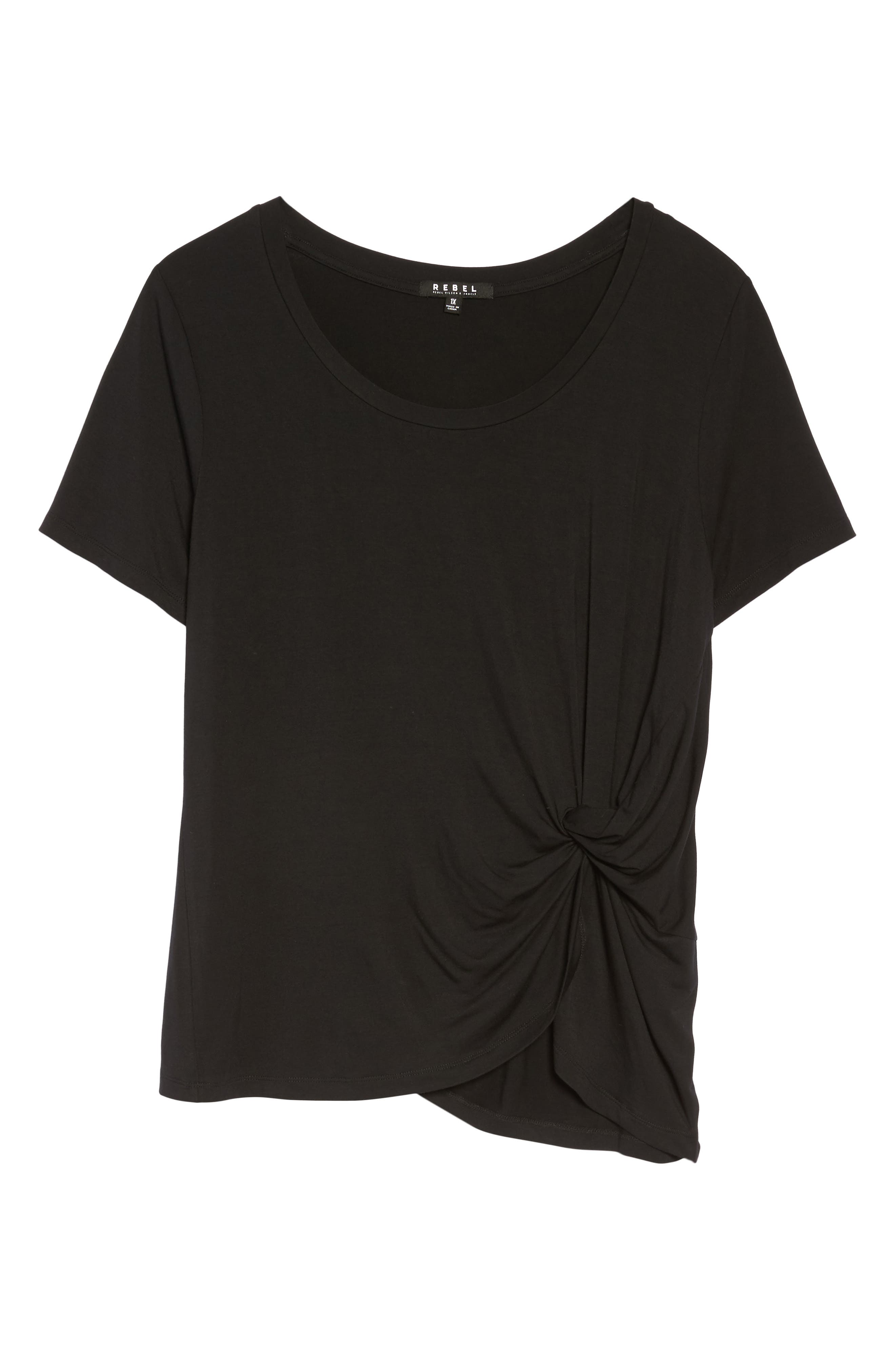 Ruched Top,                             Alternate thumbnail 6, color,                             002