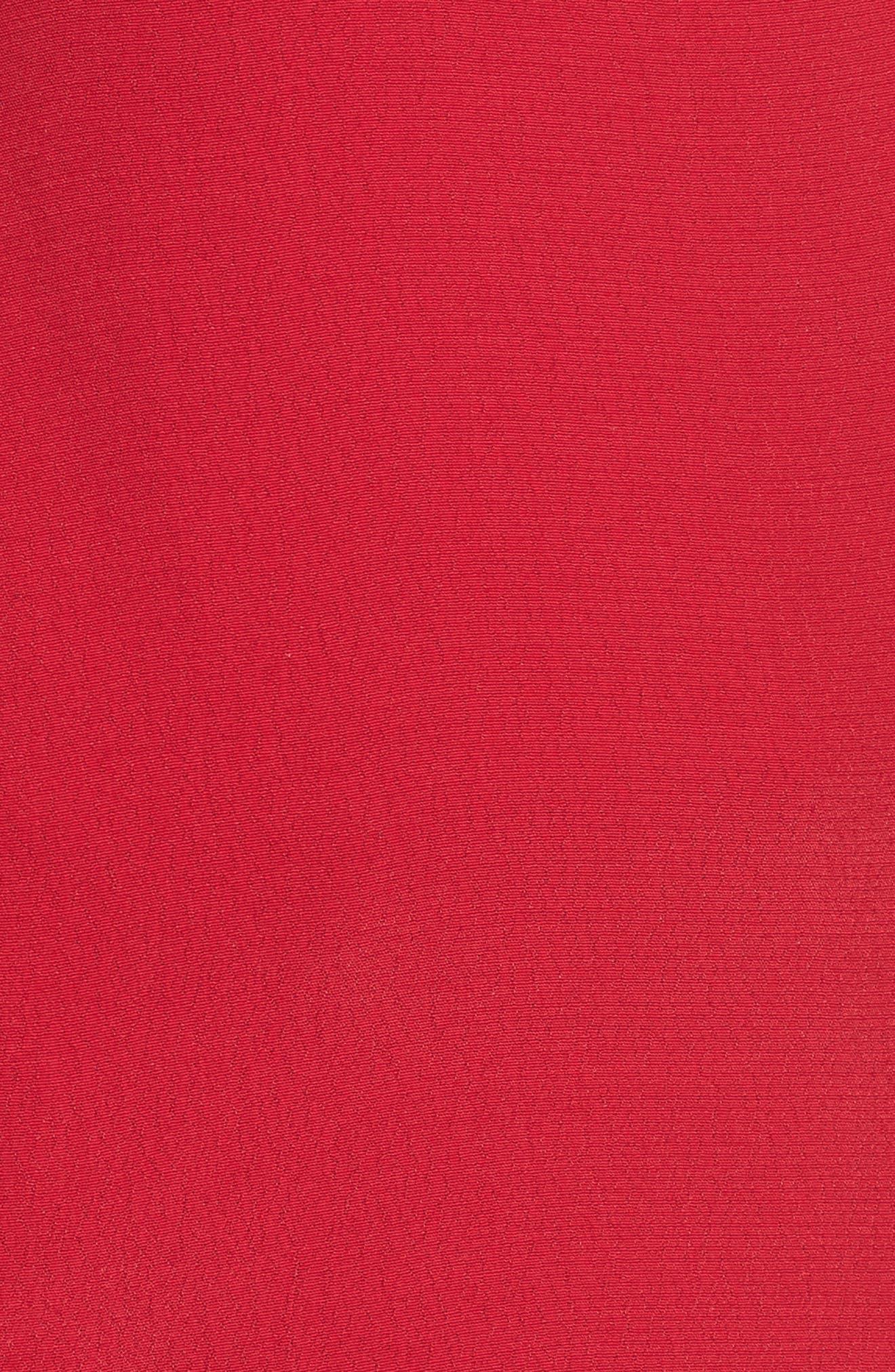 Cherry Nights Ruffle Sleeve Blouse,                             Alternate thumbnail 5, color,                             610