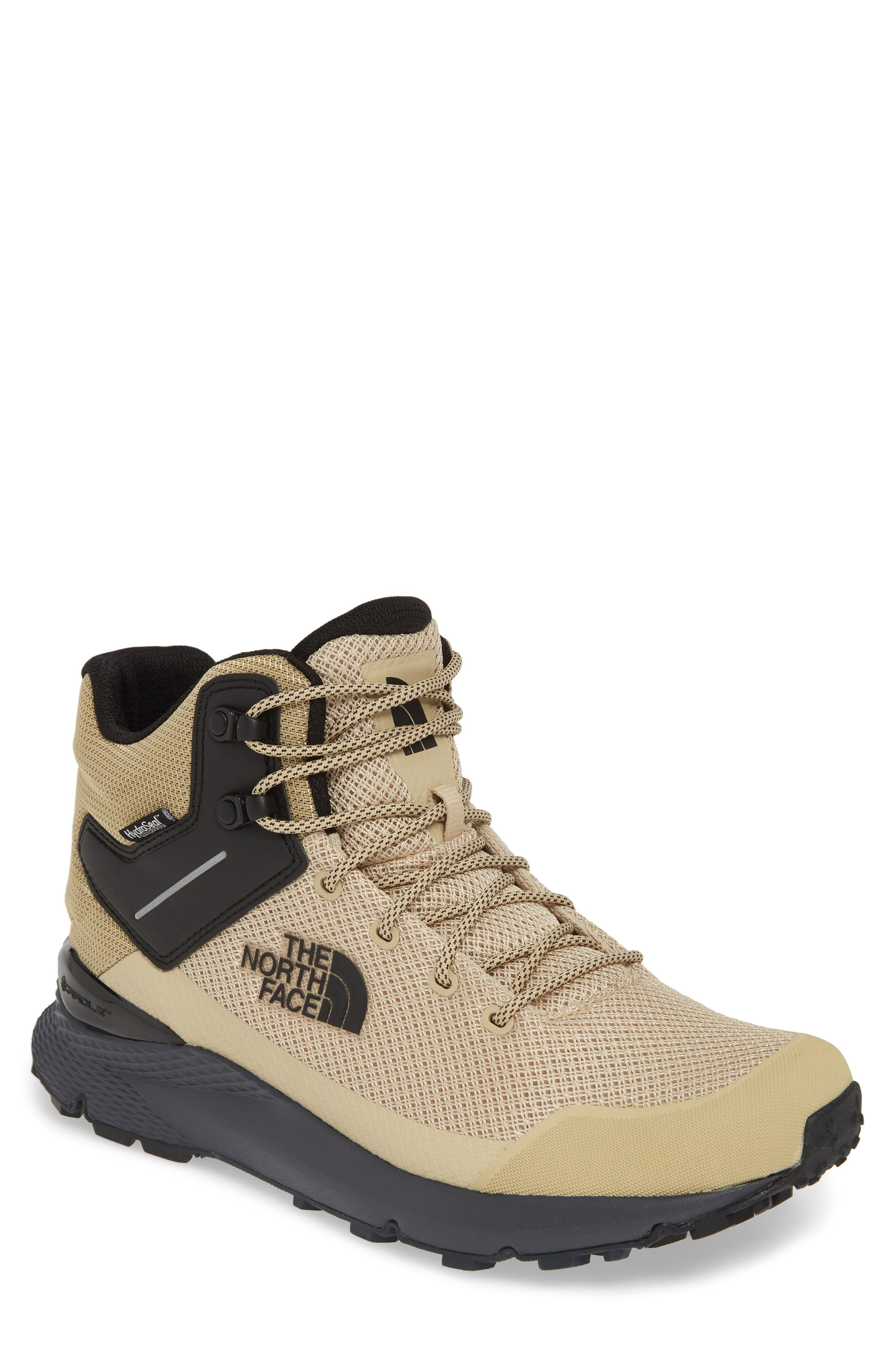 The North Face Val Mid Waterproof Hiking Boot, Beige