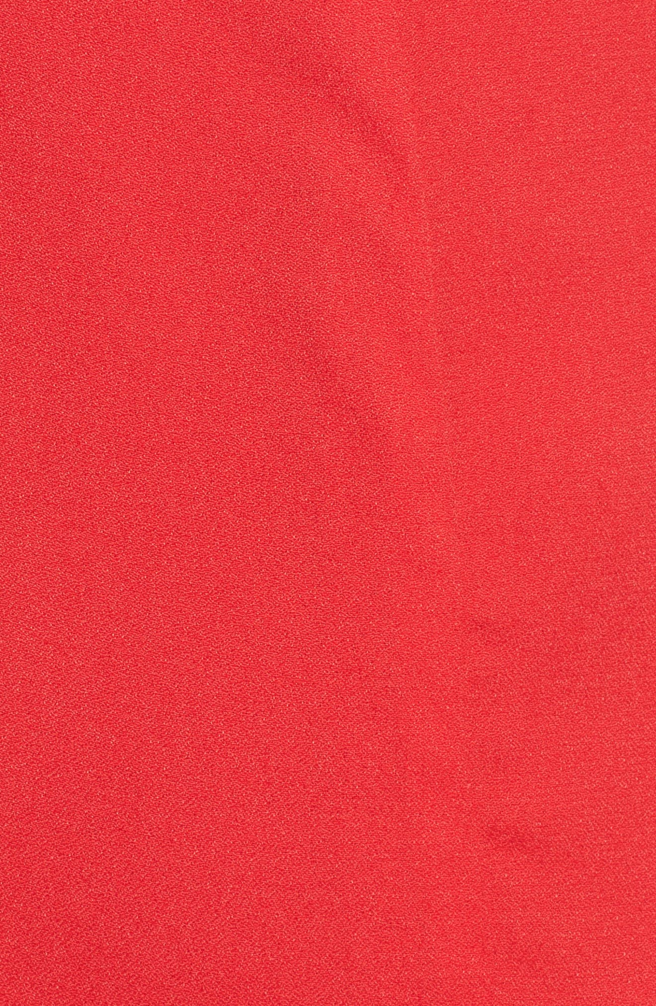 Chelsea Lattice Back Fit & Flare Dress,                             Alternate thumbnail 20, color,