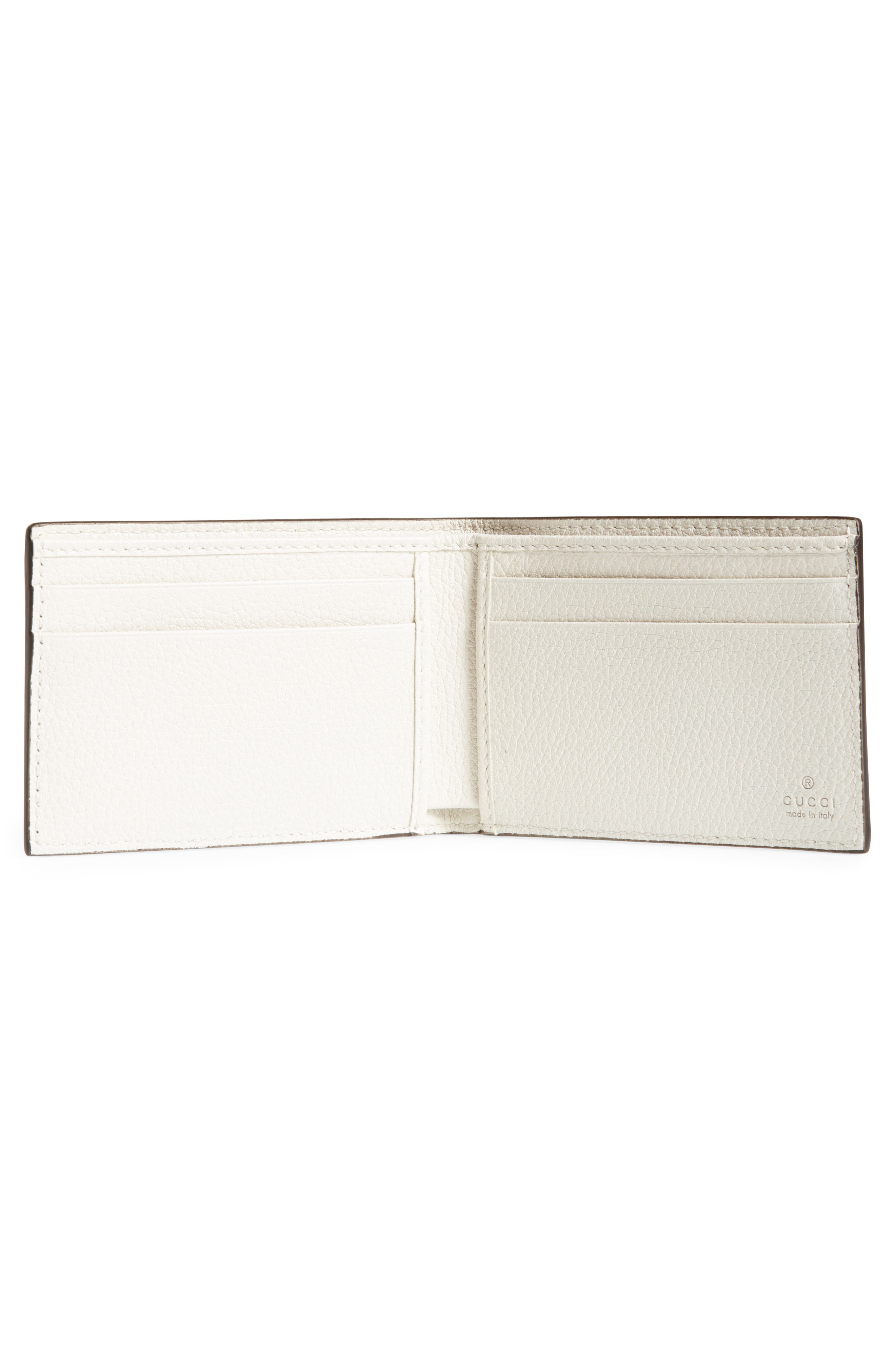 Wallet,                             Alternate thumbnail 2, color,                             WHITE