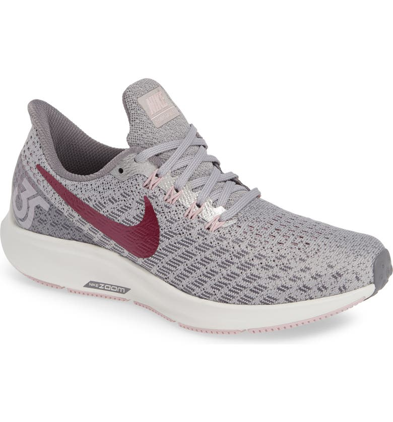 wholesale dealer 4e944 2aeaf NIKE Air Zoom Pegasus 35 Running Shoe, Main, color, GREY  TRUE BERRY