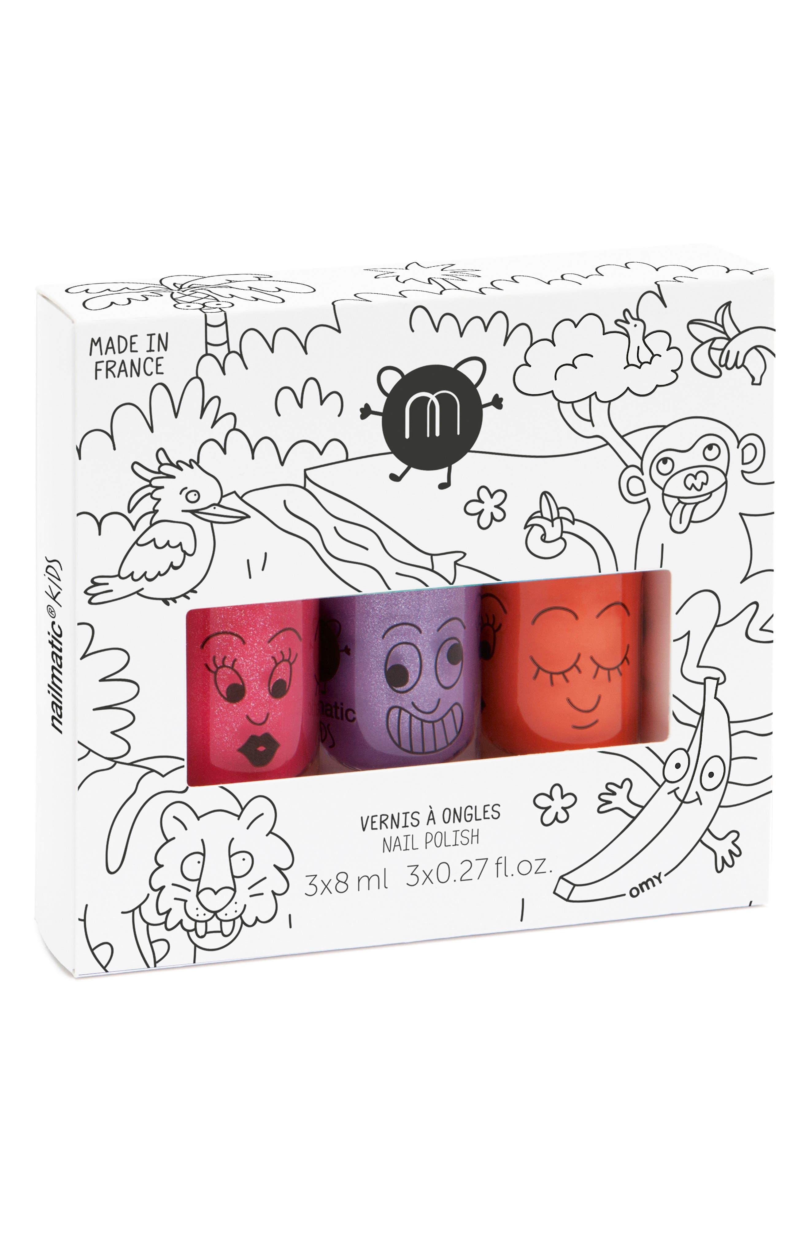 Water-Based Nail Polish Set,                             Main thumbnail 1, color,                             ASST