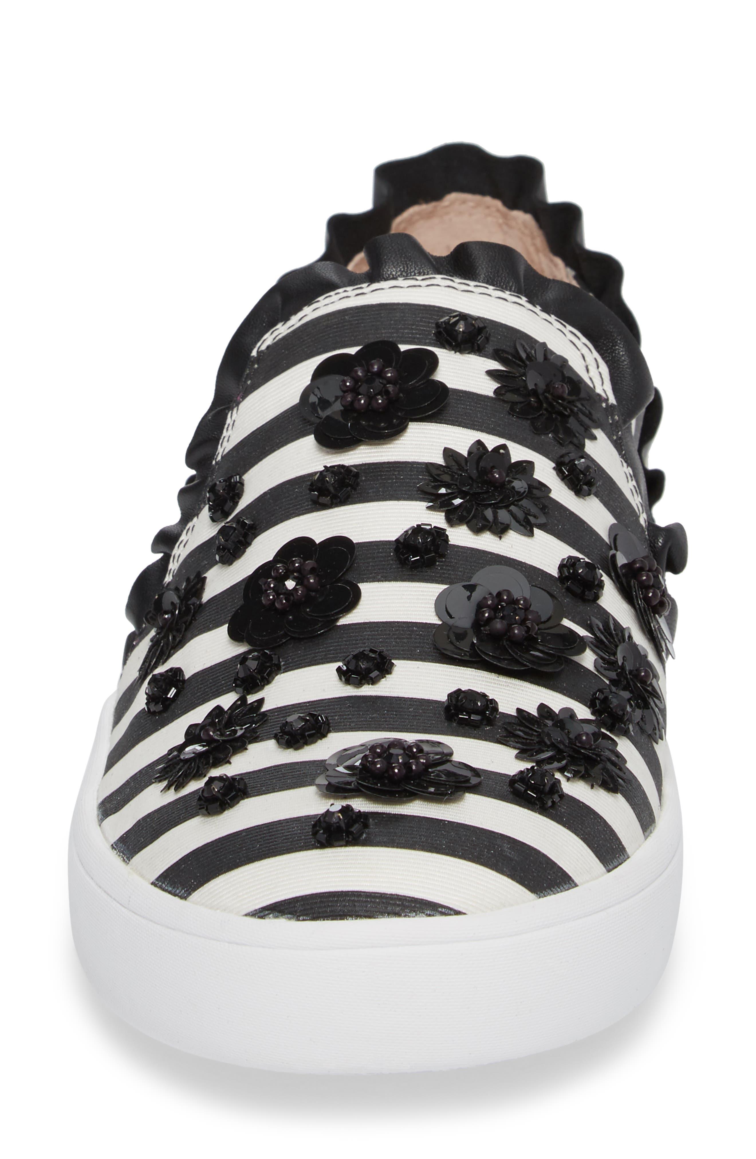 louise slip-on sneaker,                             Alternate thumbnail 4, color,                             002