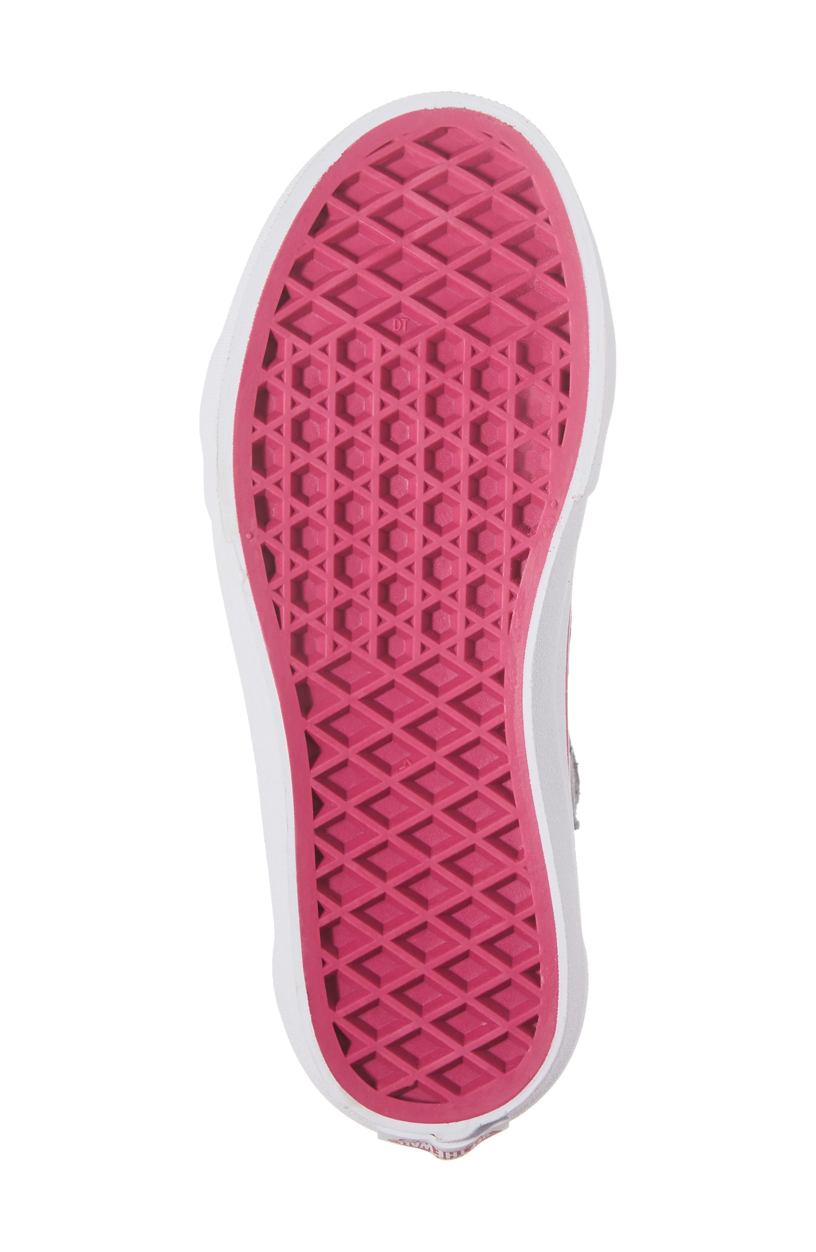 SK8-Hi Zip-Up Sneaker,                             Alternate thumbnail 6, color,                             650