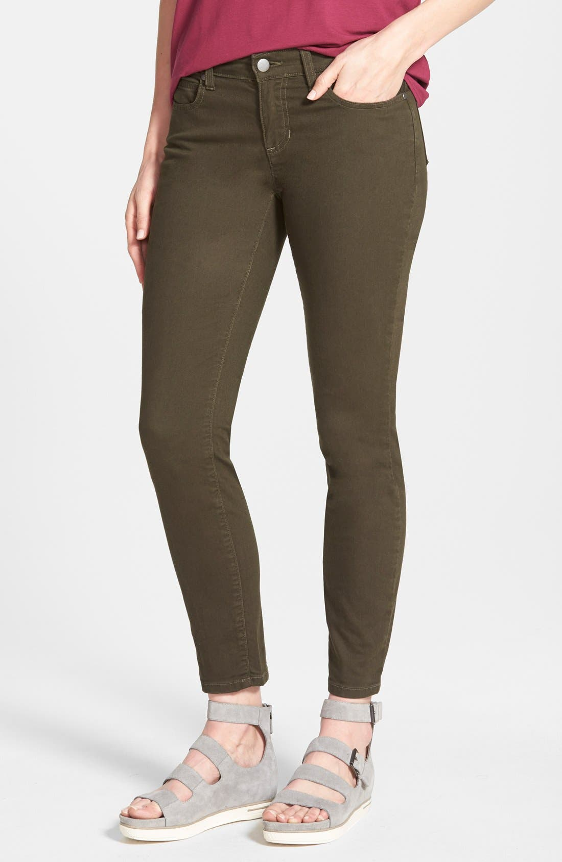 Skinny Ankle Jeans,                             Main thumbnail 4, color,