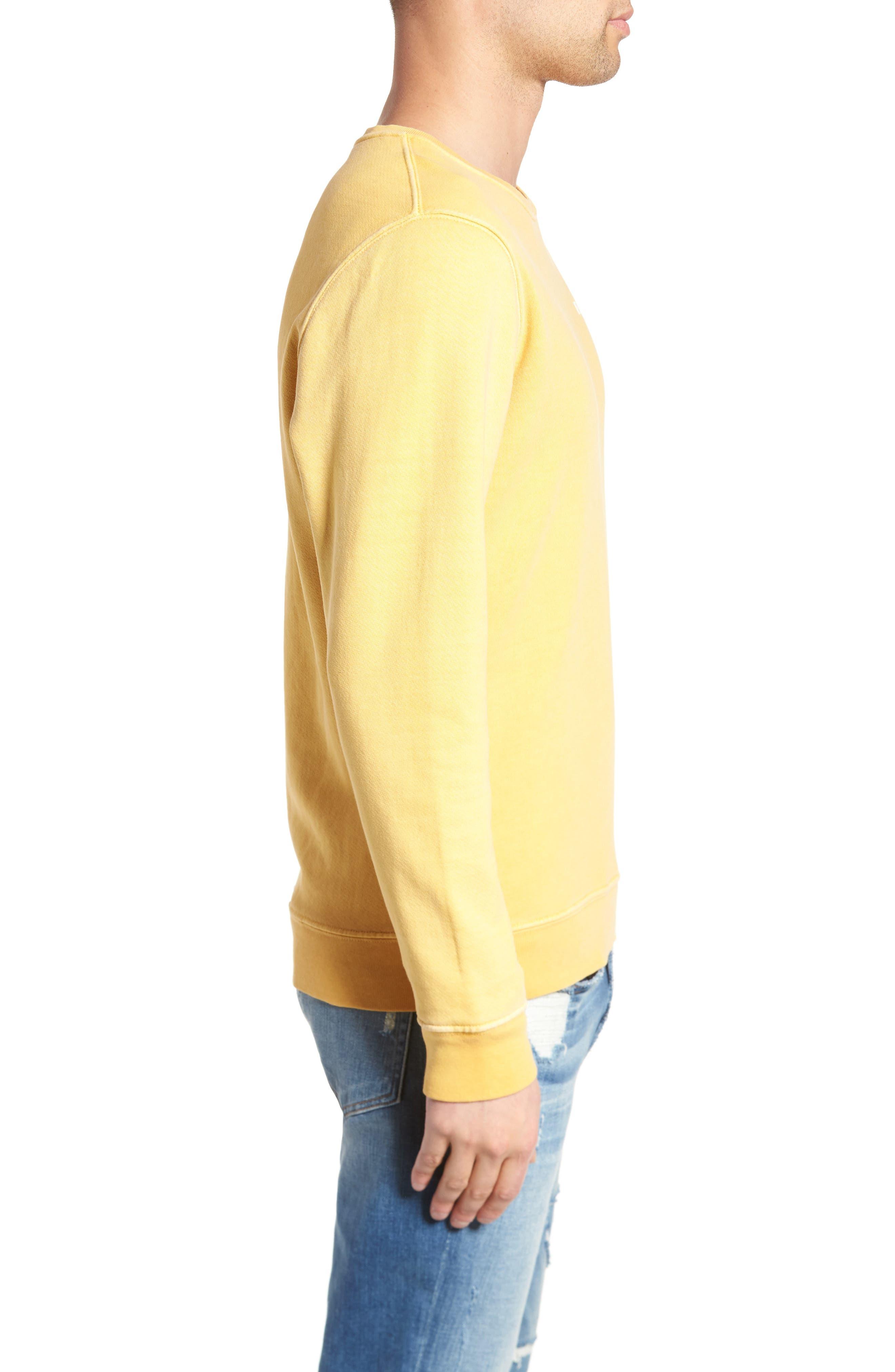 Vintage Crewneck Sweatshirt,                             Alternate thumbnail 9, color,