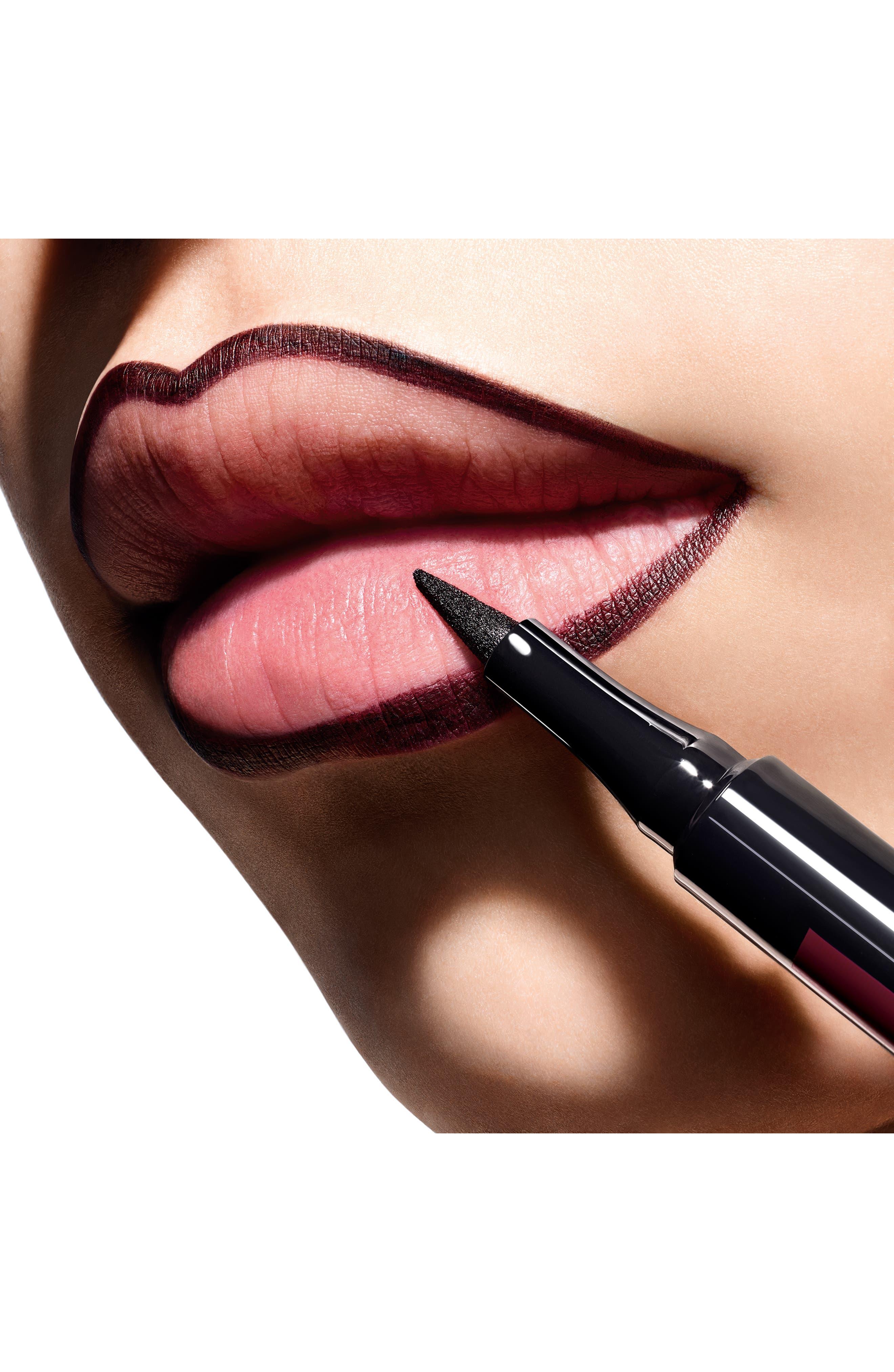 DIOR,                             Rouge Dior Ink Lip Liner,                             Alternate thumbnail 3, color,                             843 CRAVE