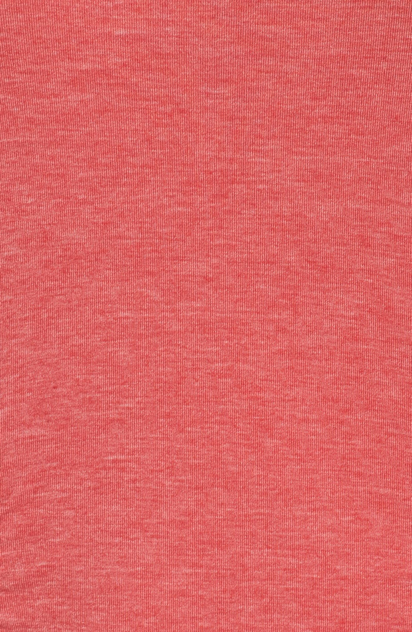 'Z 6' Ruched Tee,                             Alternate thumbnail 73, color,