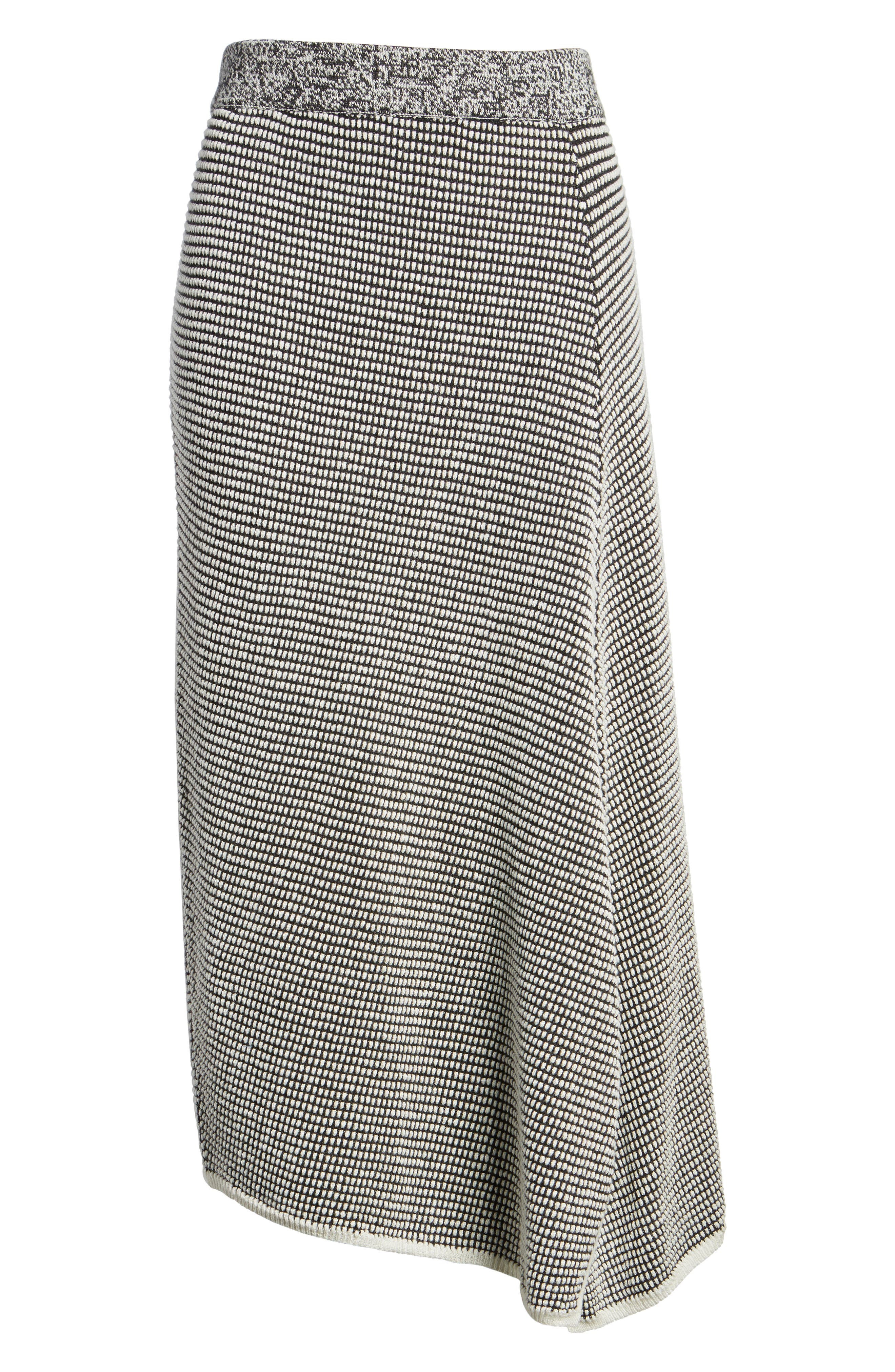 Frosted Fall Knit Skirt,                             Alternate thumbnail 6, color,