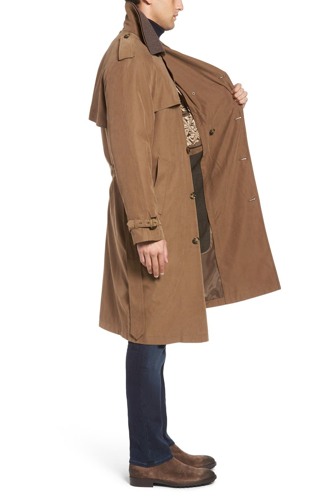 Trench Coat,                             Alternate thumbnail 18, color,