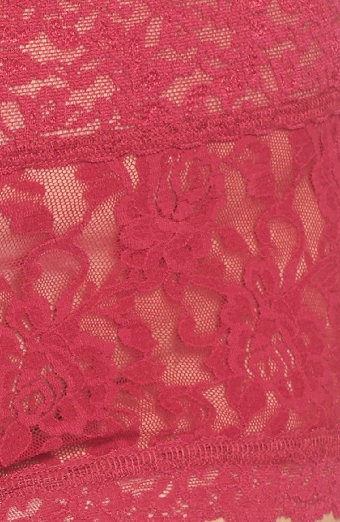 Stretch Lace Boyshorts,                             Alternate thumbnail 65, color,