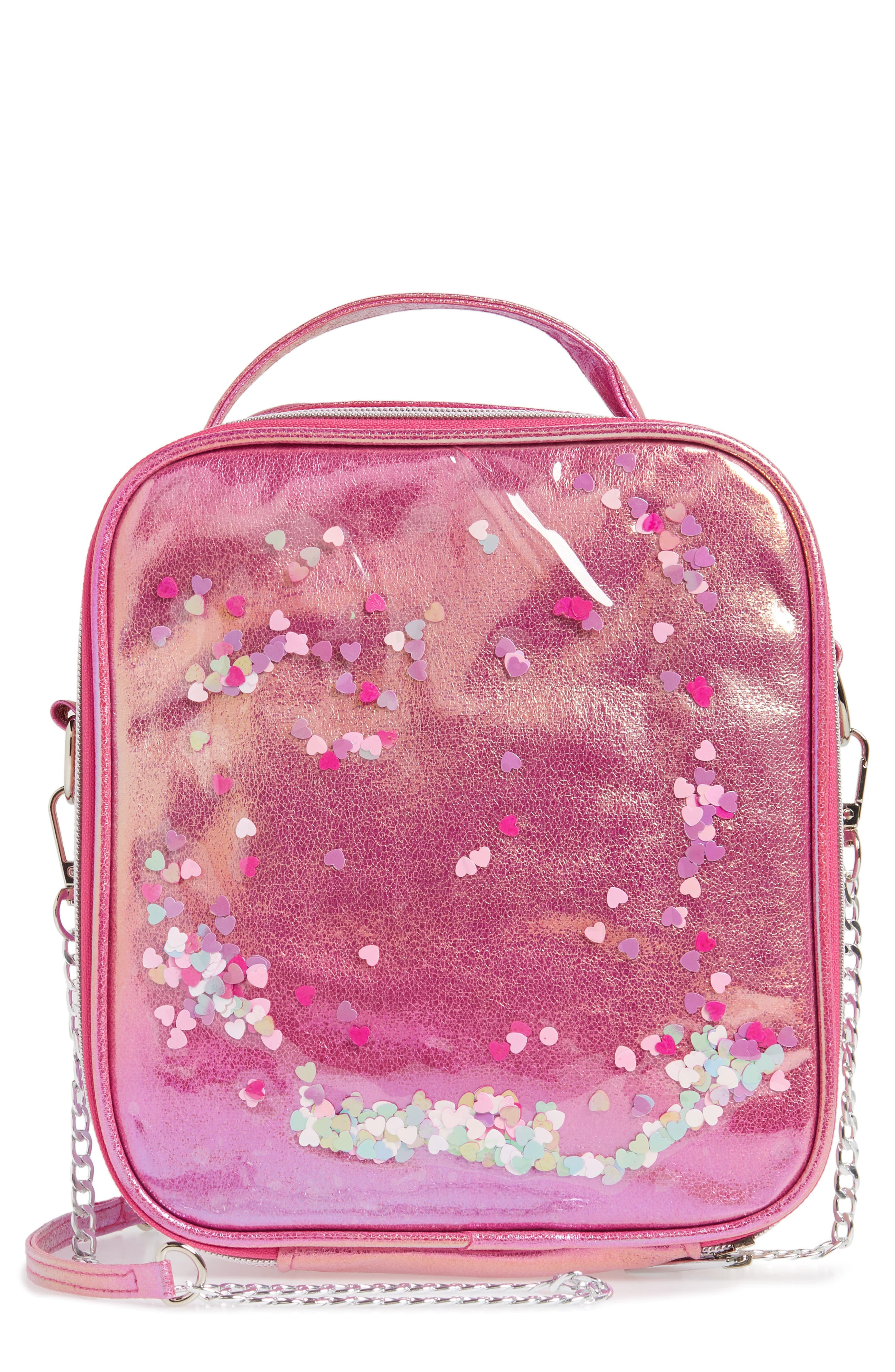 Heart Confetti Lunchbox, Main, color, 650