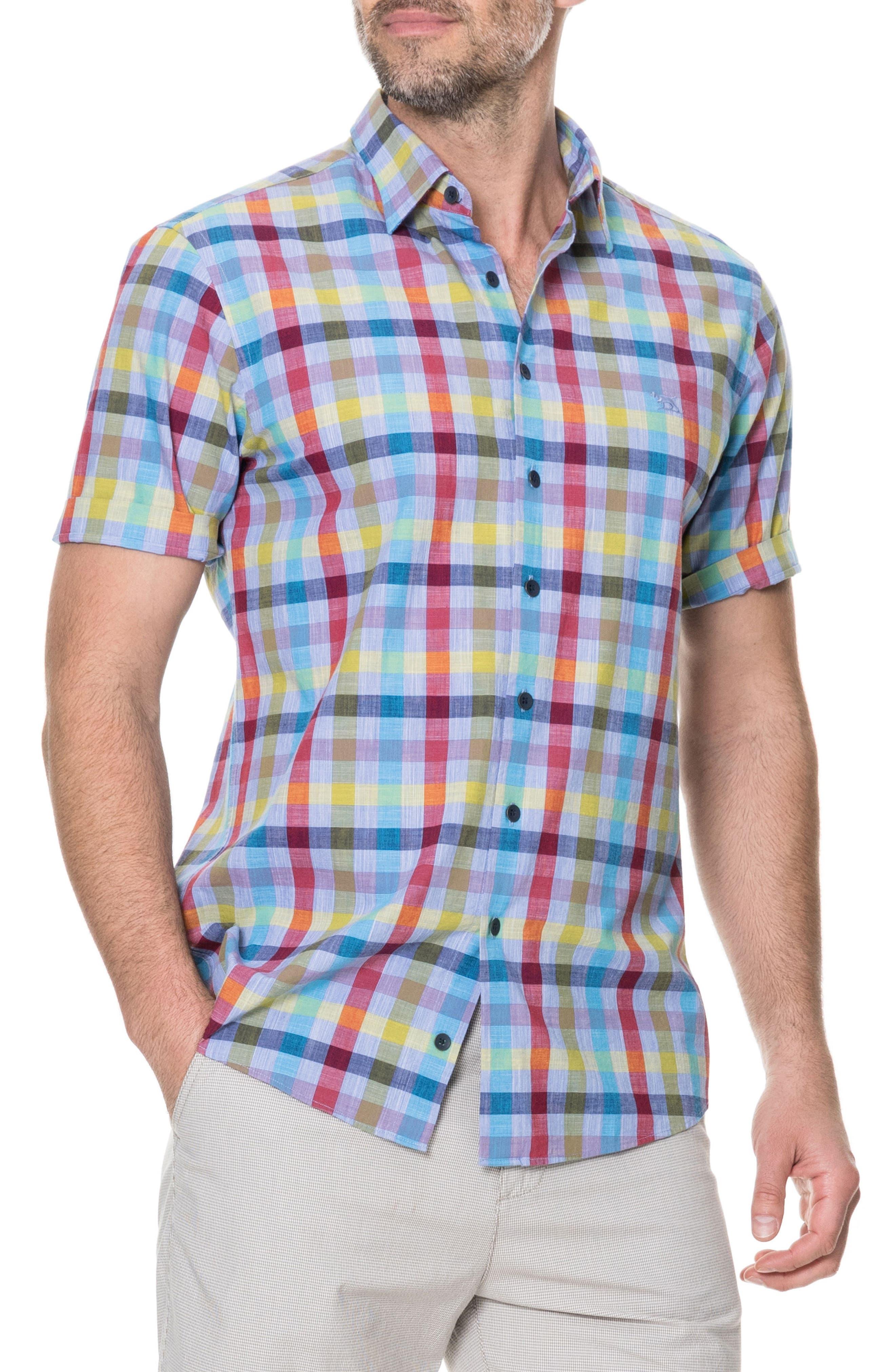 Alpers Regular Fit Sport Shirt,                             Main thumbnail 1, color,                             452