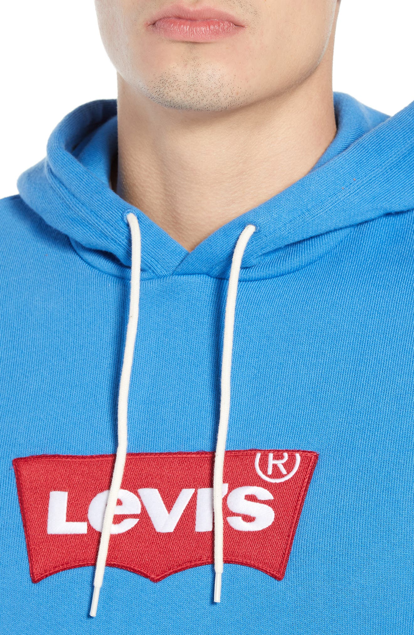 Original Logo Appliqué Hoodie,                             Alternate thumbnail 4, color,                             CAMPULA