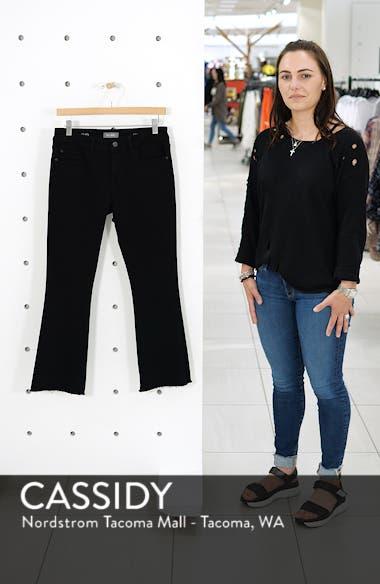 Lara Instasculpt High Waist Crop Flare Jeans, sales video thumbnail