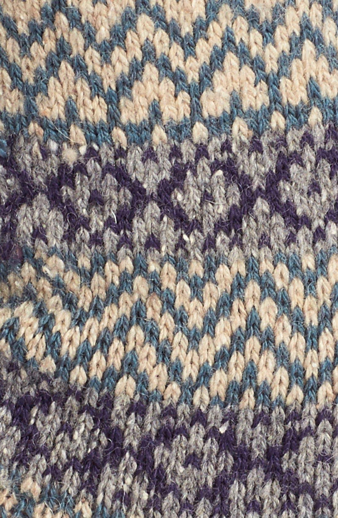 Scott-Nichol 'Rosedale Fair Isle' Wool Blend Socks,                             Alternate thumbnail 2, color,                             026