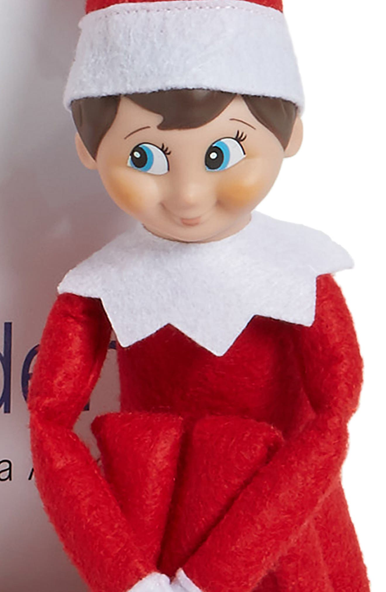 Carol Aebersold and Chanda Bell 'The Elf on the Shelf<sup>®</sup>: A Christmas Tradition<sup>™</sup>' Book & Elf,                             Alternate thumbnail 3, color,                             SPANISH VERSION - BOY