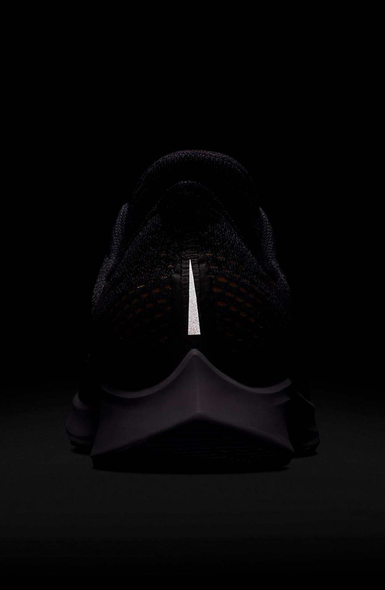 Air Zoom Pegasus 35 Running Shoe,                             Alternate thumbnail 6, color,                             BLACK/ PEWTER/ MOSS