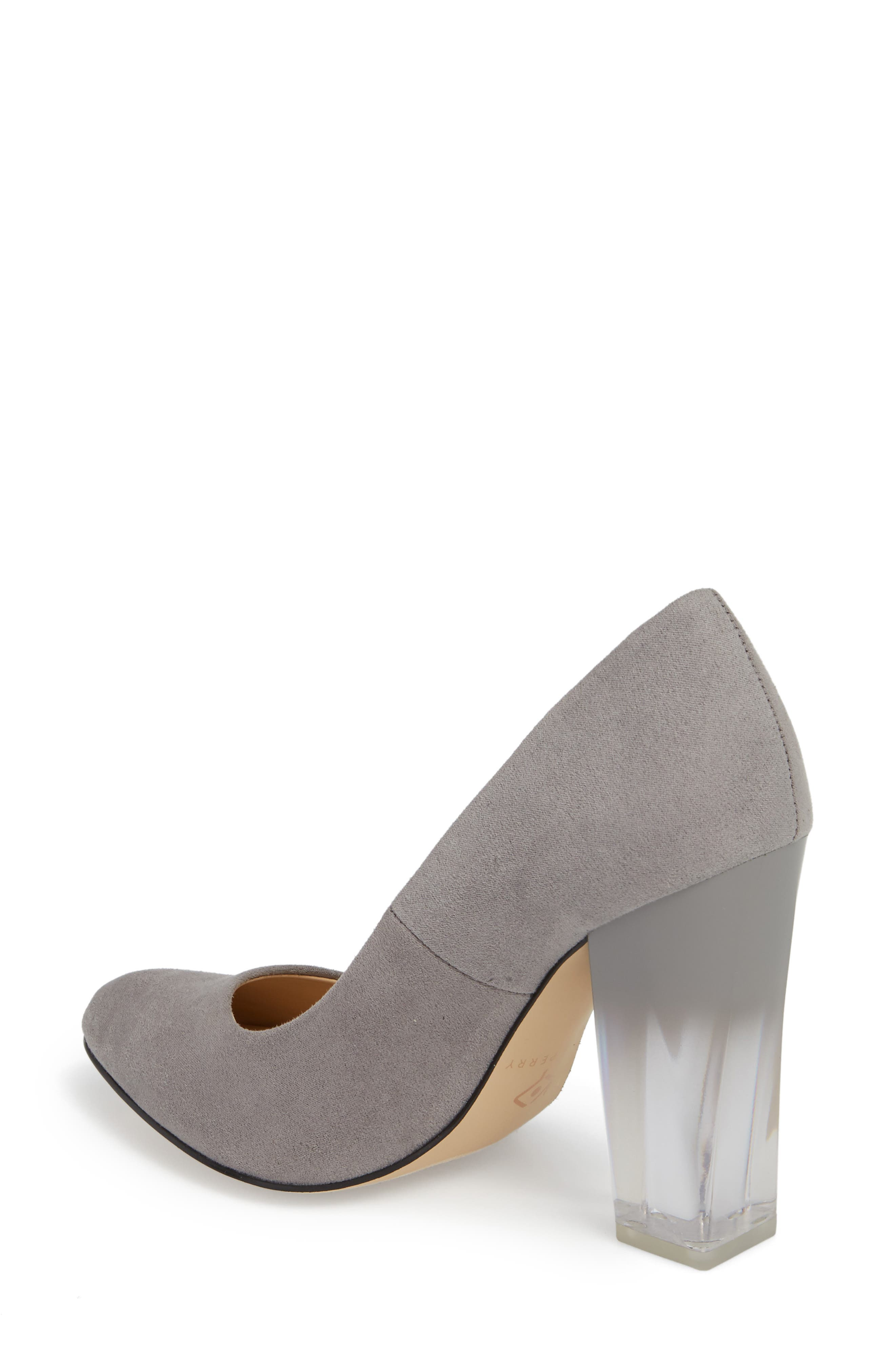 Statement Heel Pump,                             Alternate thumbnail 2, color,                             DARK NICKEL