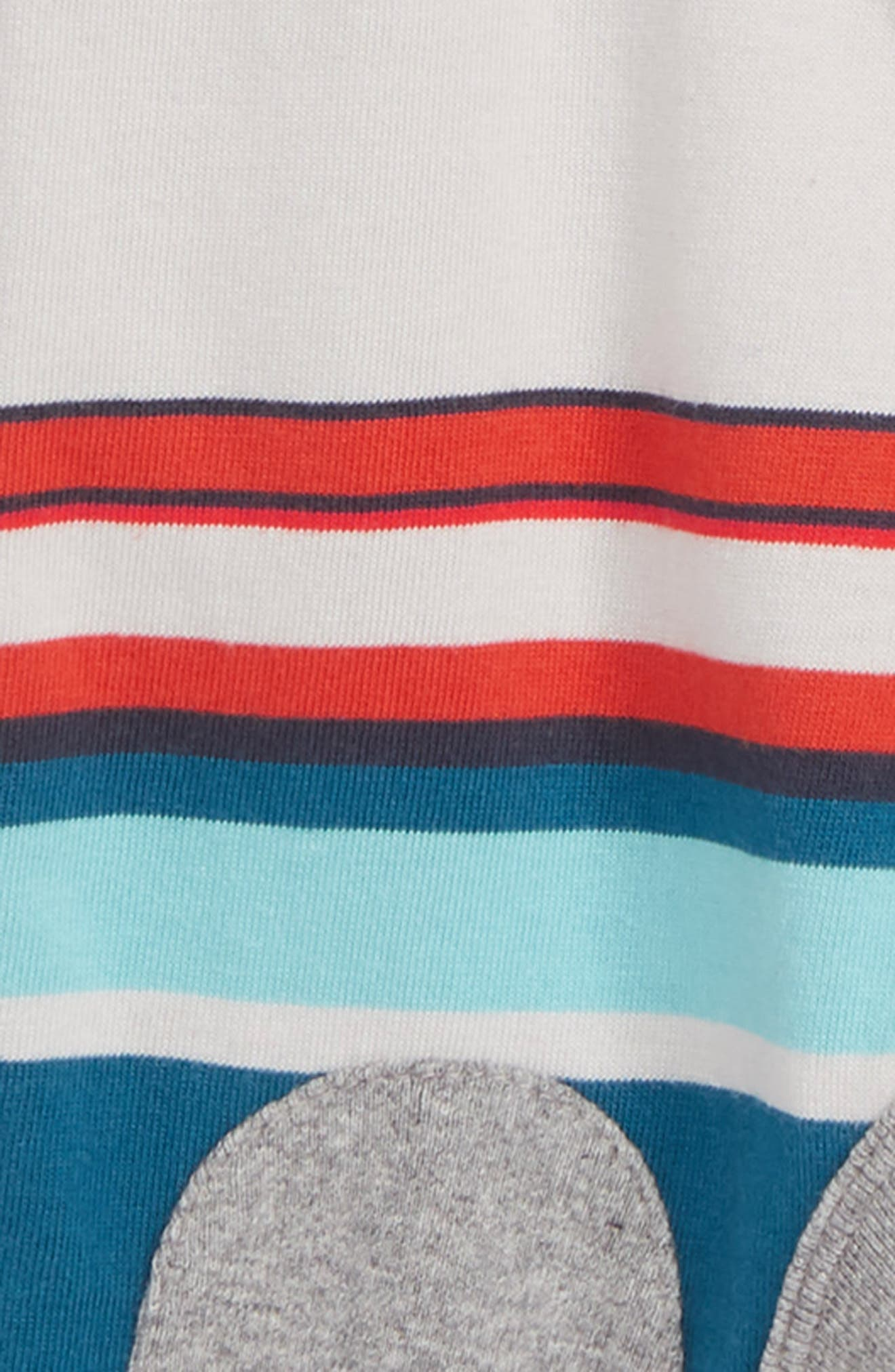 Stripe Knee Patch Romper,                             Alternate thumbnail 2, color,                             057