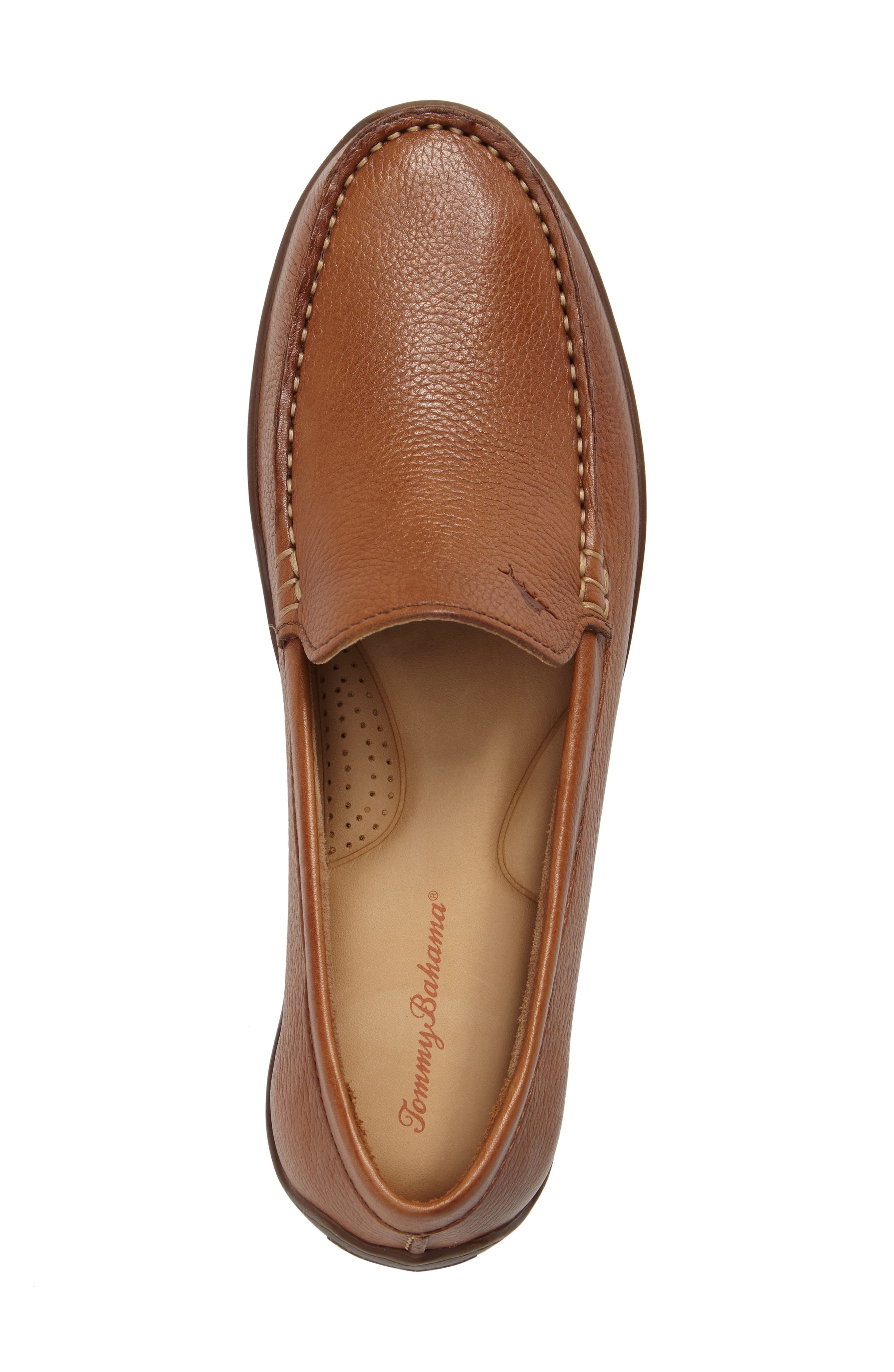 Orion Venetian Loafer,                             Alternate thumbnail 5, color,                             TAN LEATHER