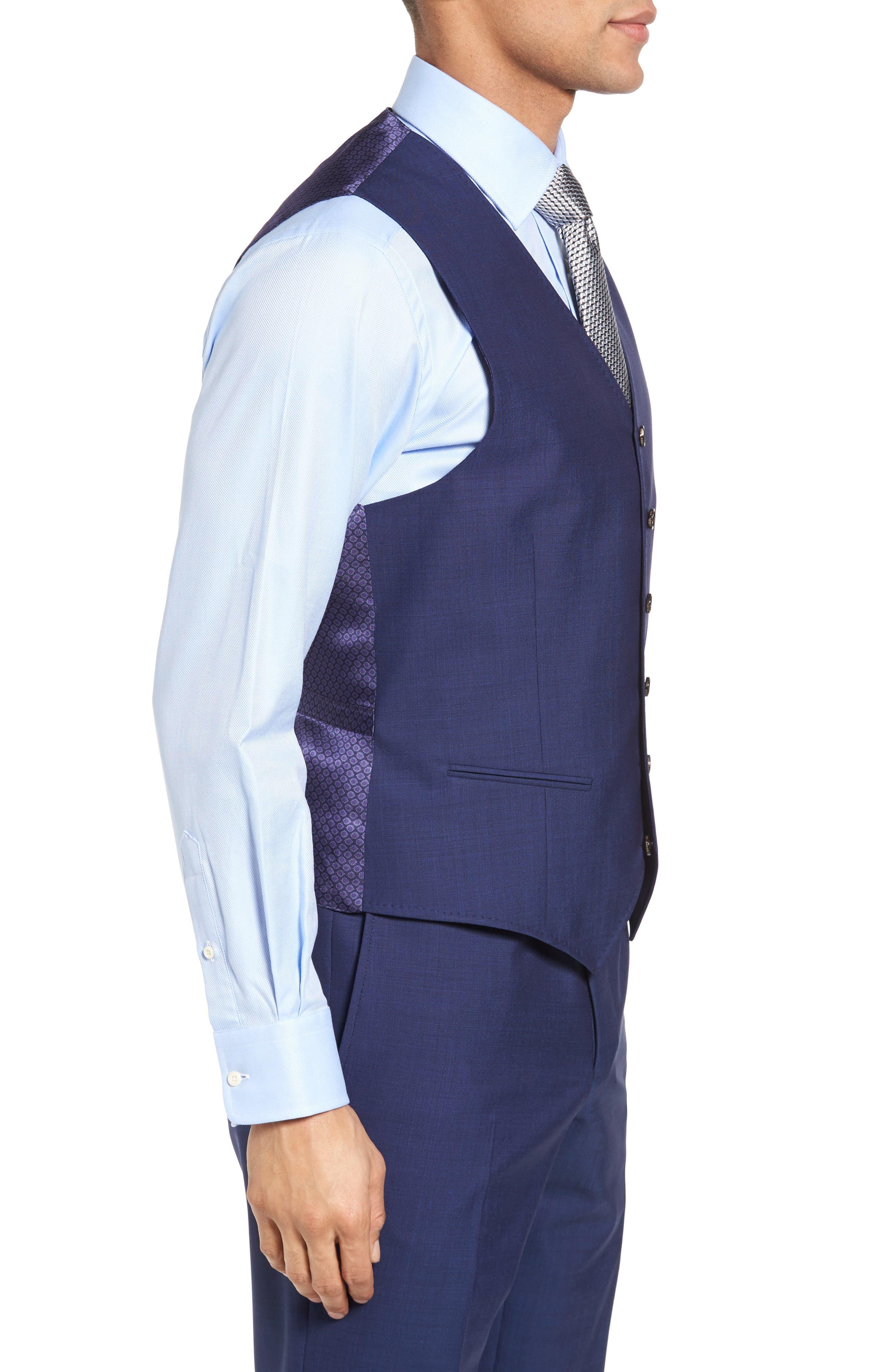 Jones Trim Fit Wool Vest,                             Alternate thumbnail 14, color,