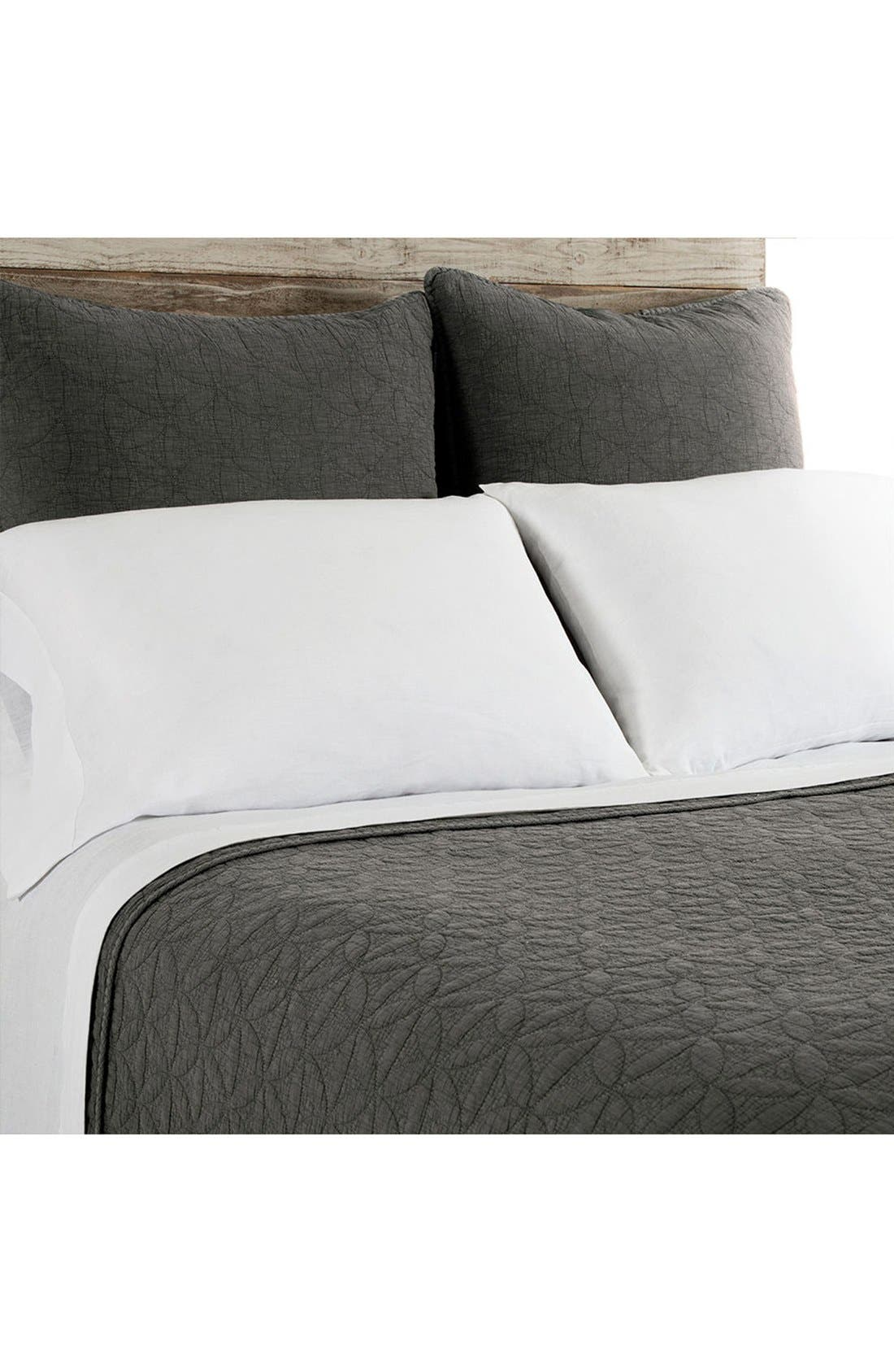 Oslo Coverlet,                         Main,                         color, GREY/ DENIM