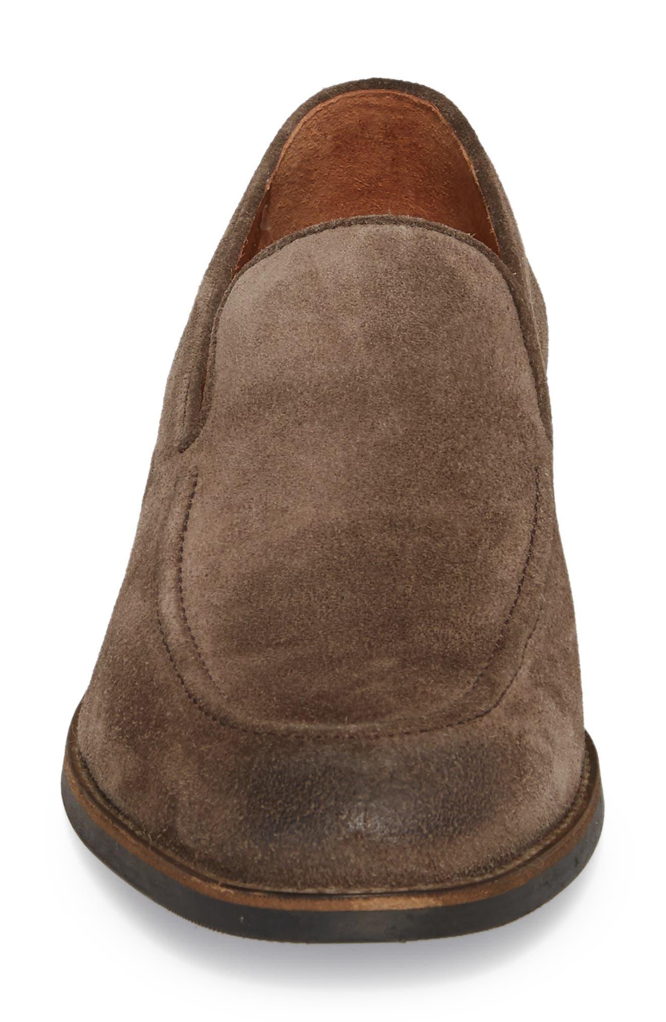 Jefferson Venetian Loafer,                             Alternate thumbnail 4, color,                             ELEPHANT SUEDE