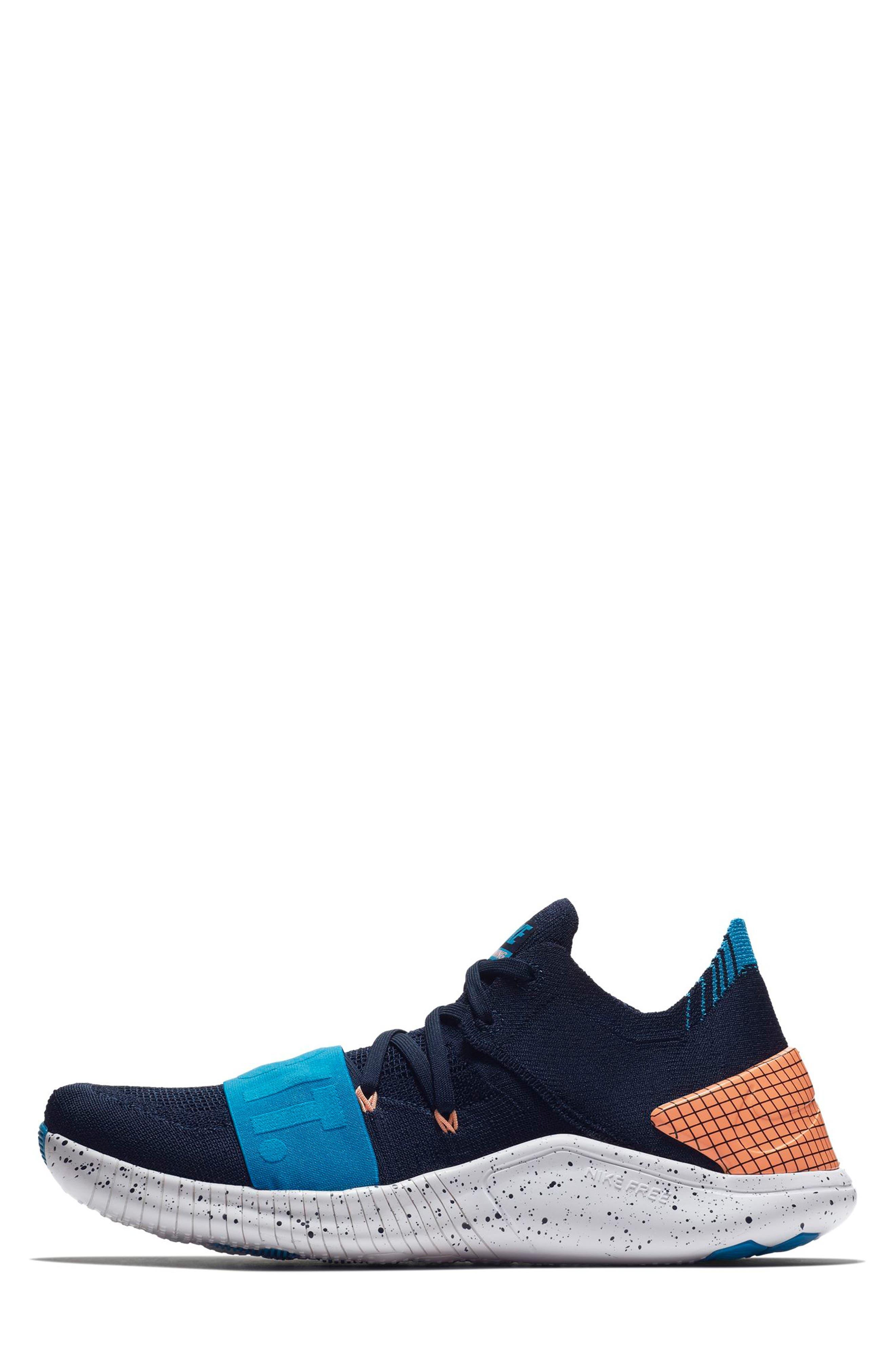 Free TR Flyknit 3 NEO Training Shoe,                             Alternate thumbnail 3, color,                             408