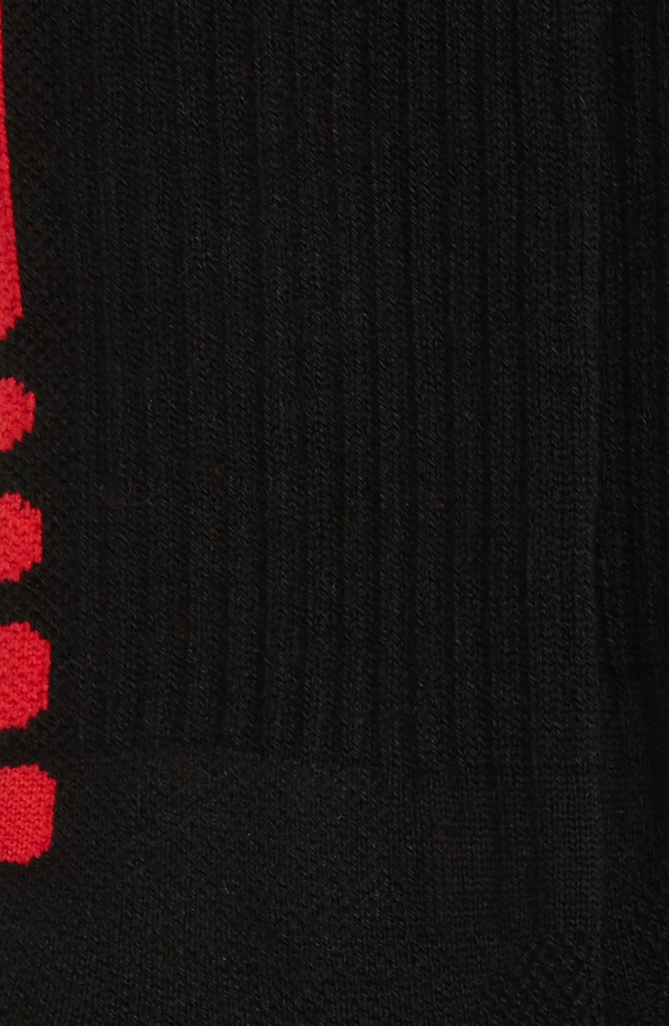 Elite Versatility Crew Socks,                             Alternate thumbnail 4, color,                             010