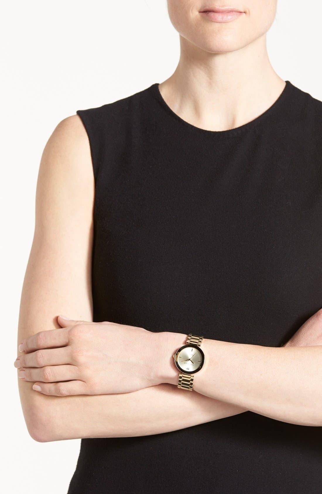 Mirror Bezel Bracelet Watch, 32mm,                             Alternate thumbnail 2, color,                             710