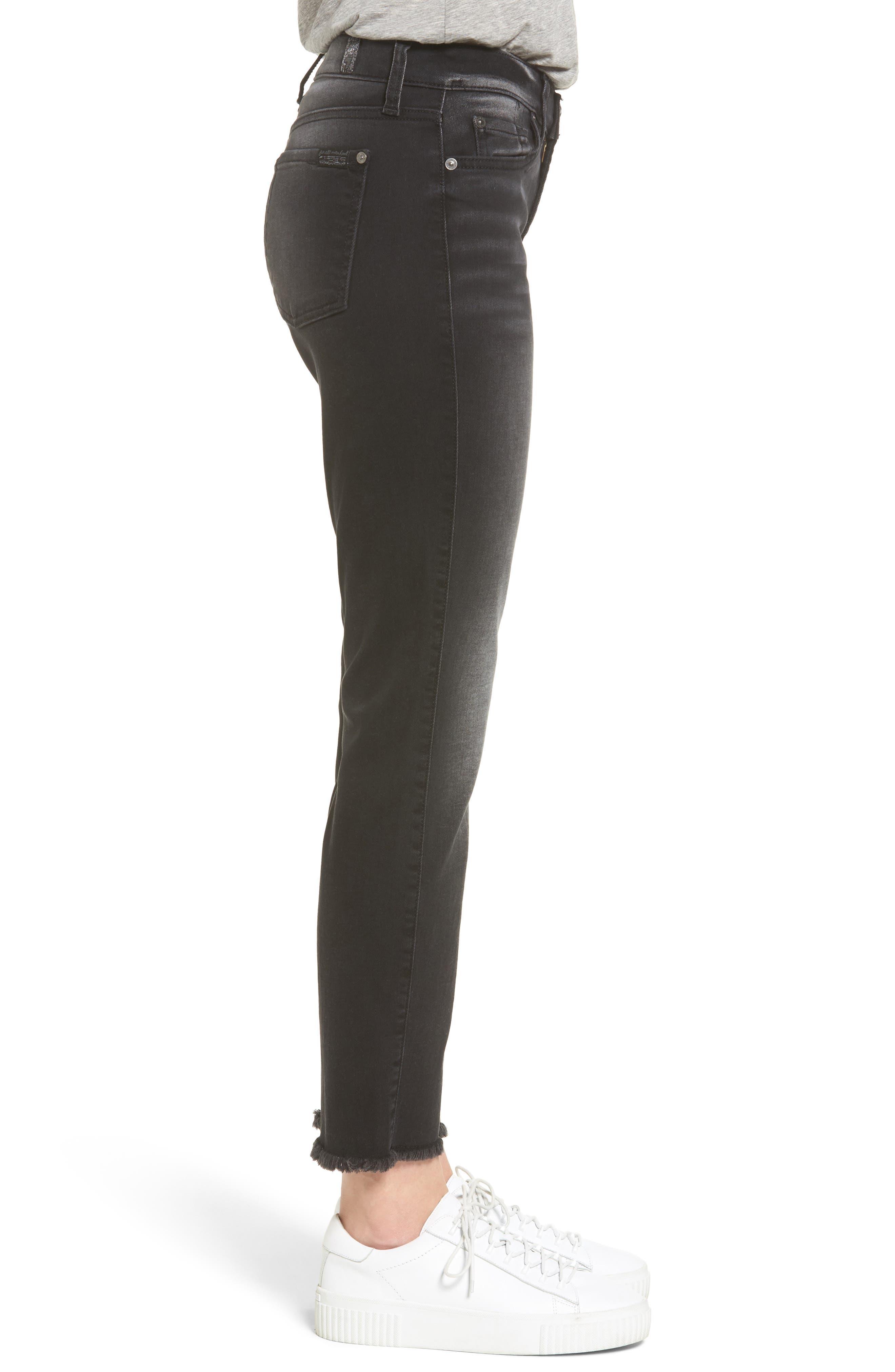 Seven7 Roxanne Raw Hem Ankle Jeans,                             Alternate thumbnail 3, color,                             004