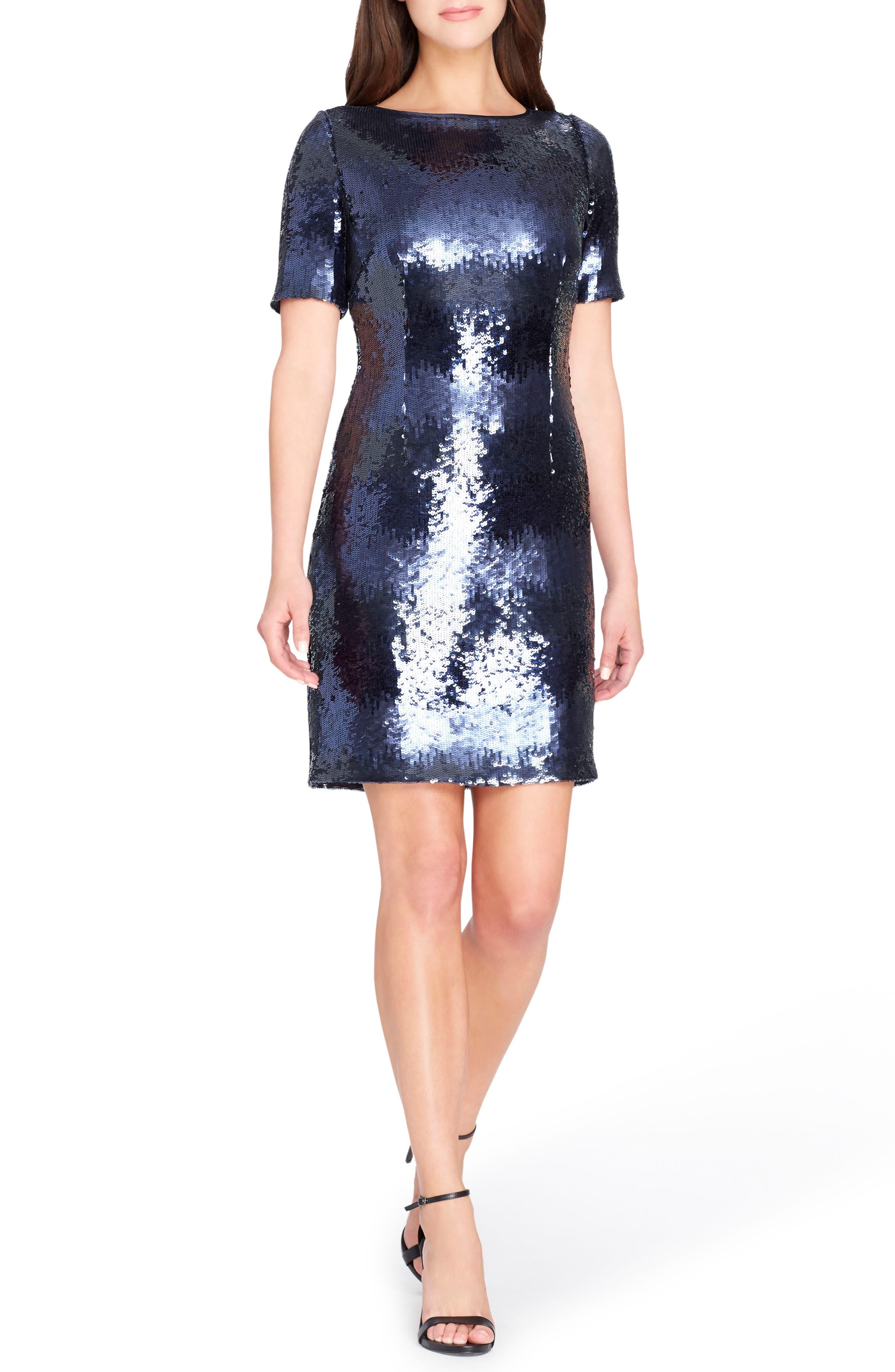 Sequin Body-Con Dress,                         Main,                         color, 409