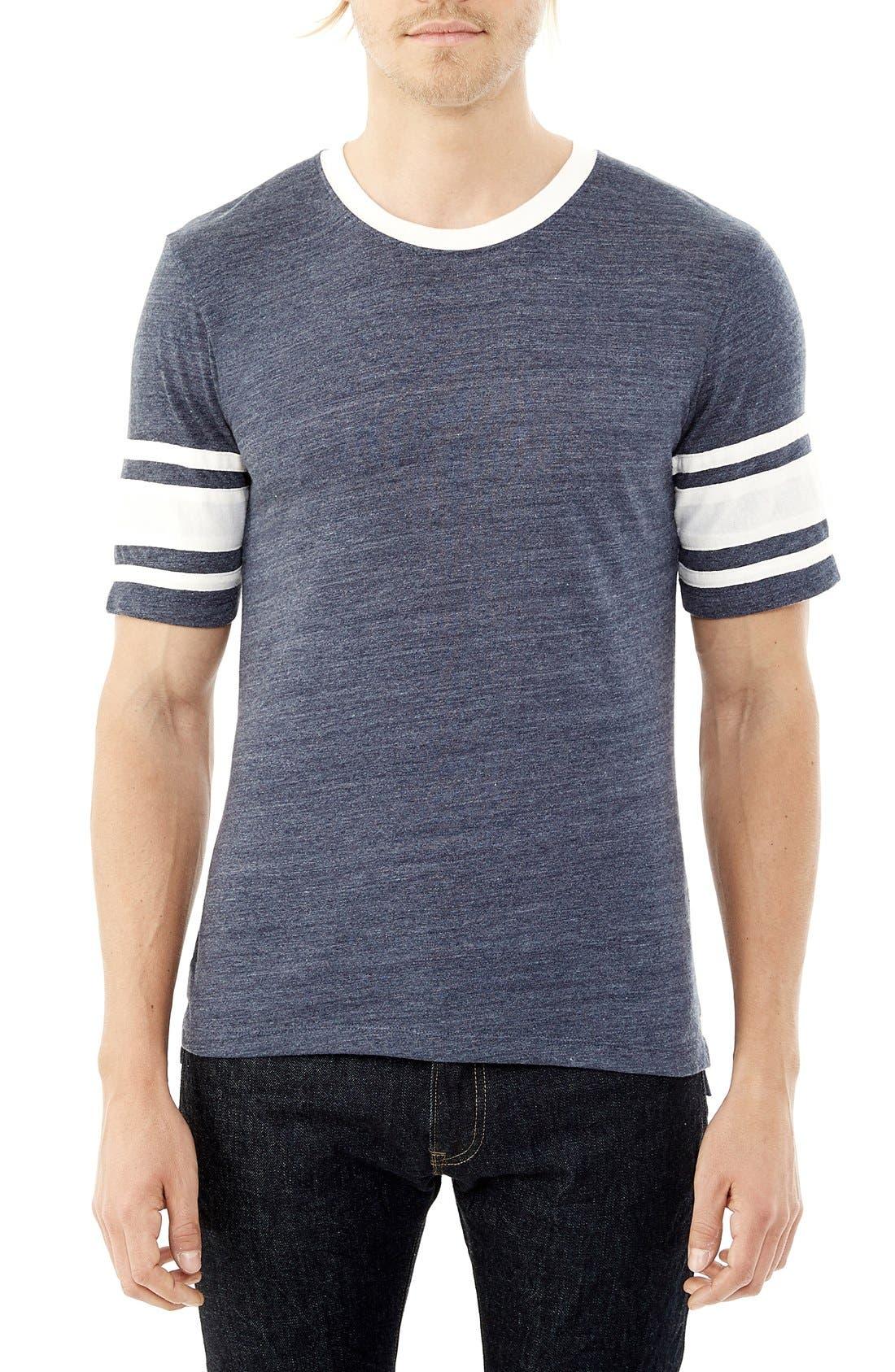 'Touchdown' Football T-Shirt,                             Main thumbnail 2, color,