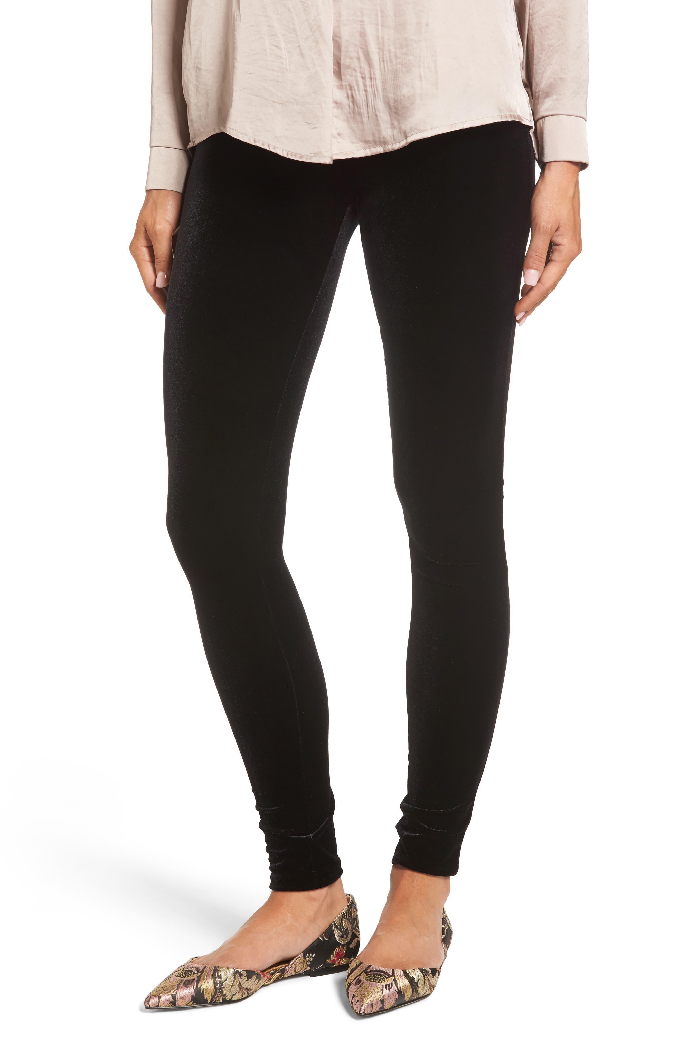 Velvet Leggings,                         Main,                         color, 002