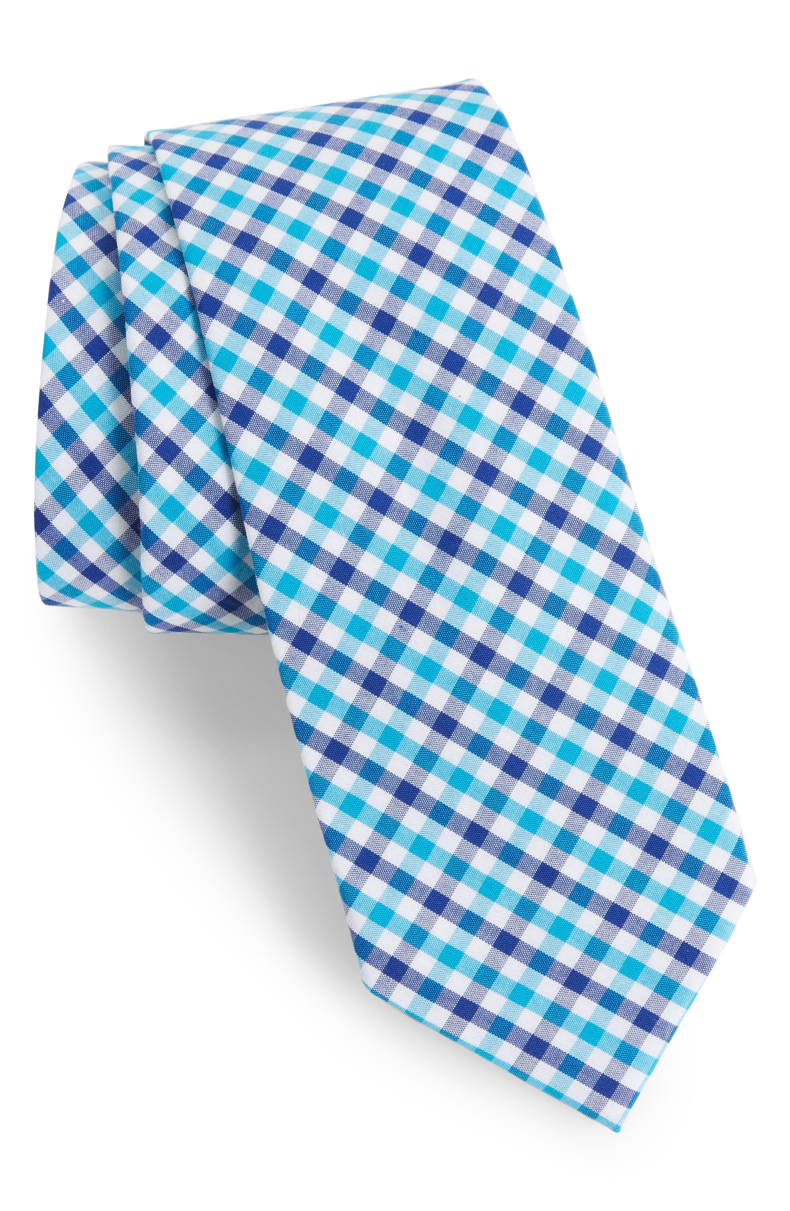 Robin Diamond Check Skinny Tie,                             Main thumbnail 2, color,