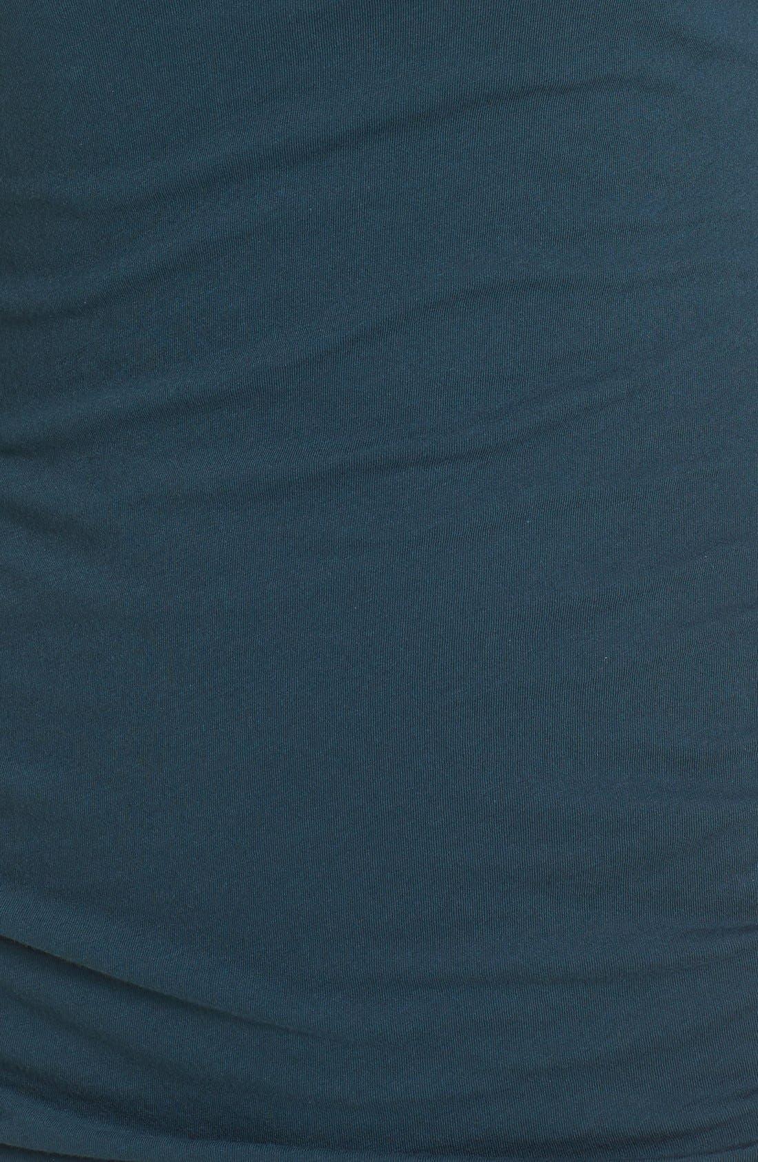 Turtleneck Midi Dress,                             Alternate thumbnail 6, color,