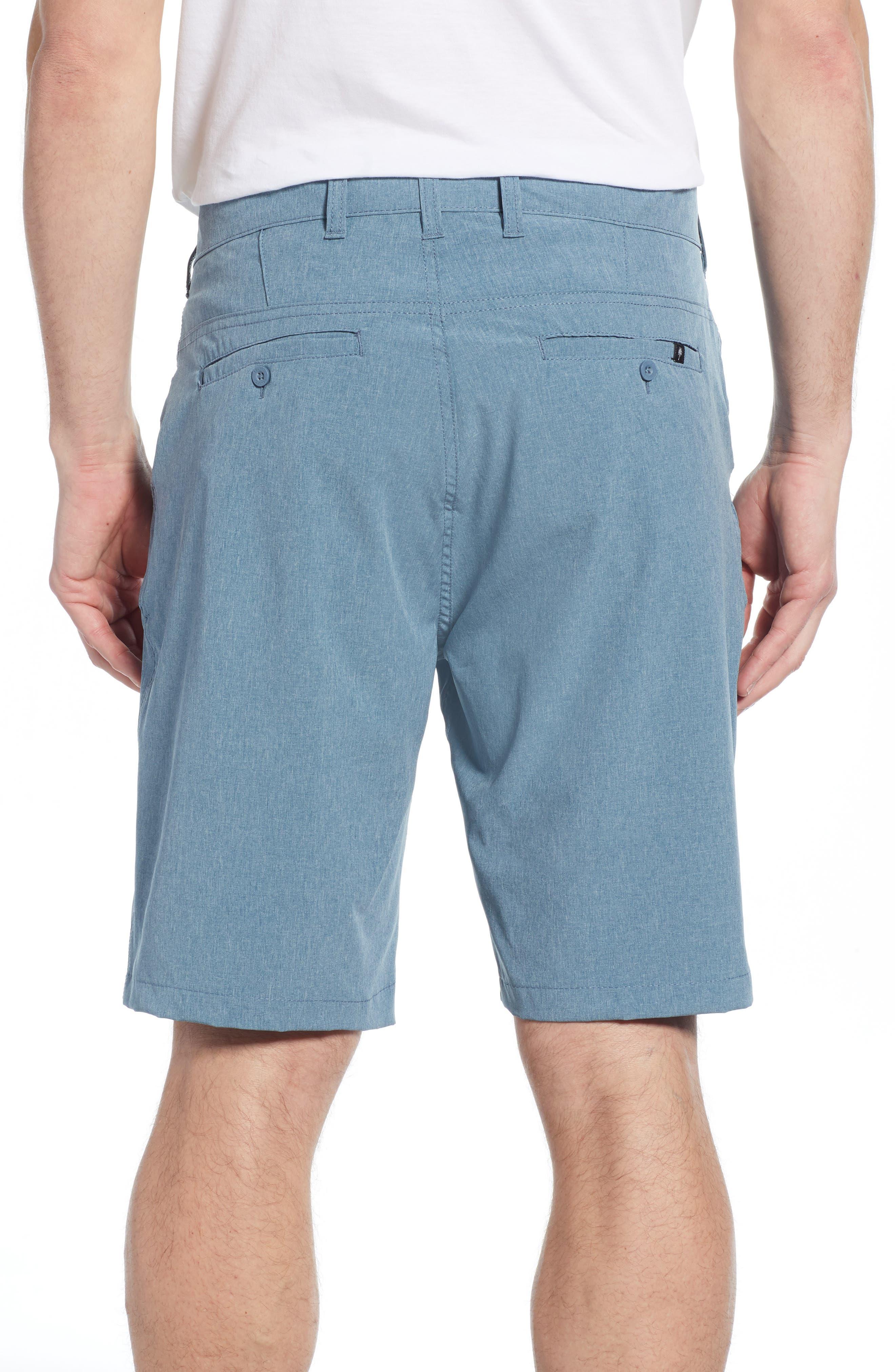 Hybrid Shorts,                             Alternate thumbnail 2, color,                             MEDITERRANEAN
