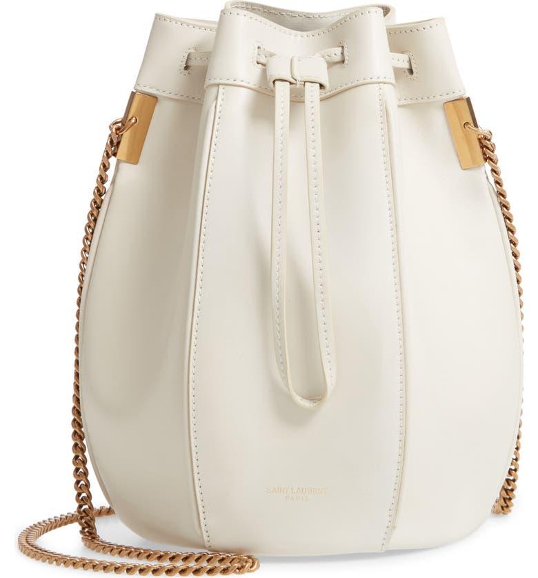 Saint Laurent Small Talitha Leather Bucket Bag  fc607b3dda731
