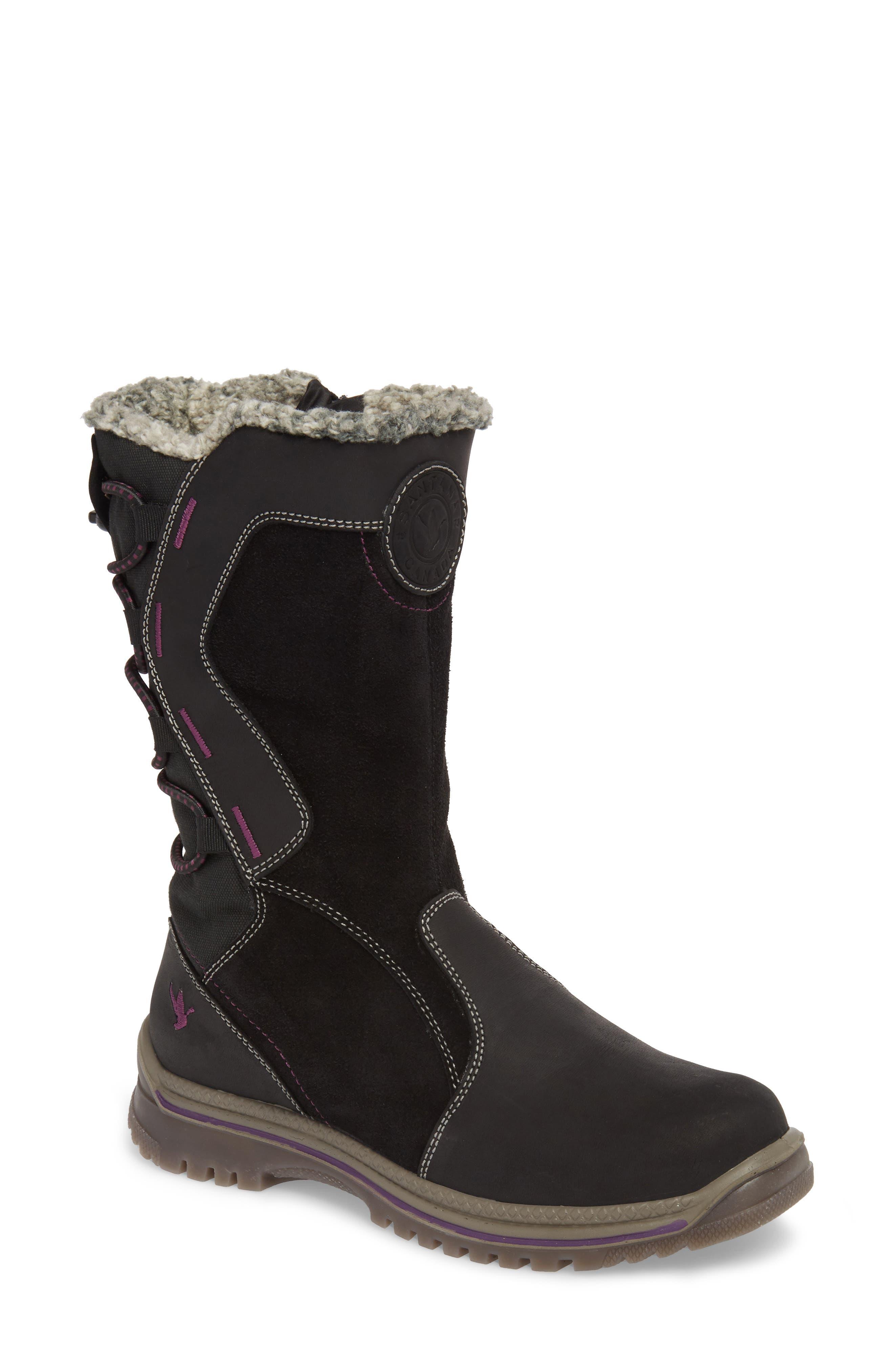 Santana Canada Mayer2 Waterproof Winter Boot, Black