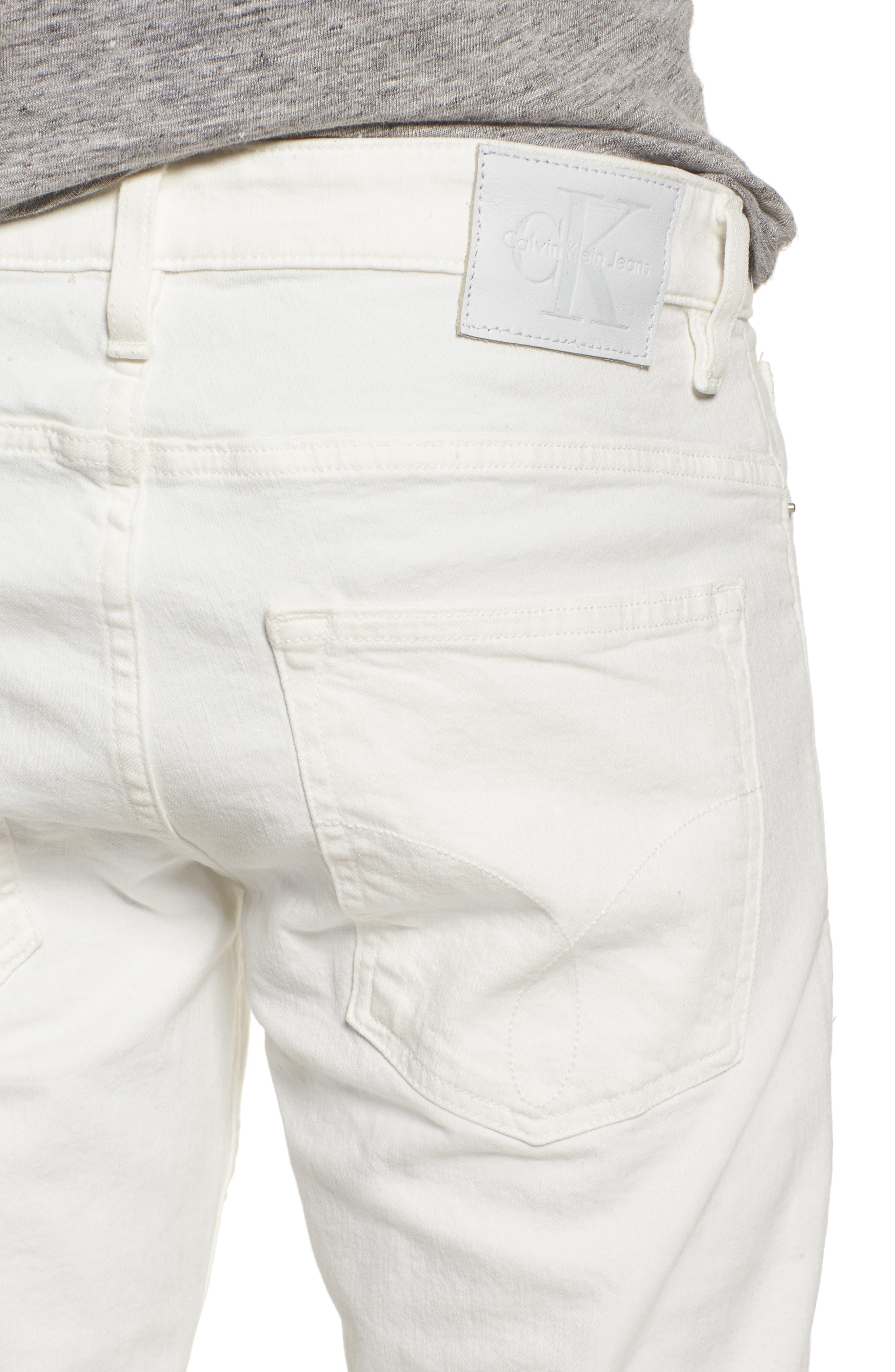 Slim Fit Jeans,                             Alternate thumbnail 4, color,                             GLASS